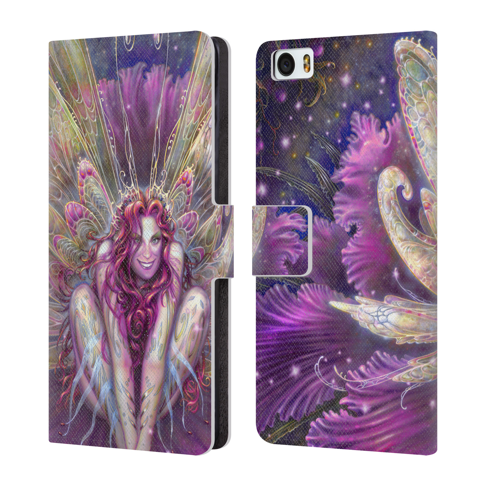 OFFICIAL-MYLES-PINKNEY-FANTASY-2-LEATHER-BOOK-WALLET-CASE-FOR-XIAOMI-PHONES
