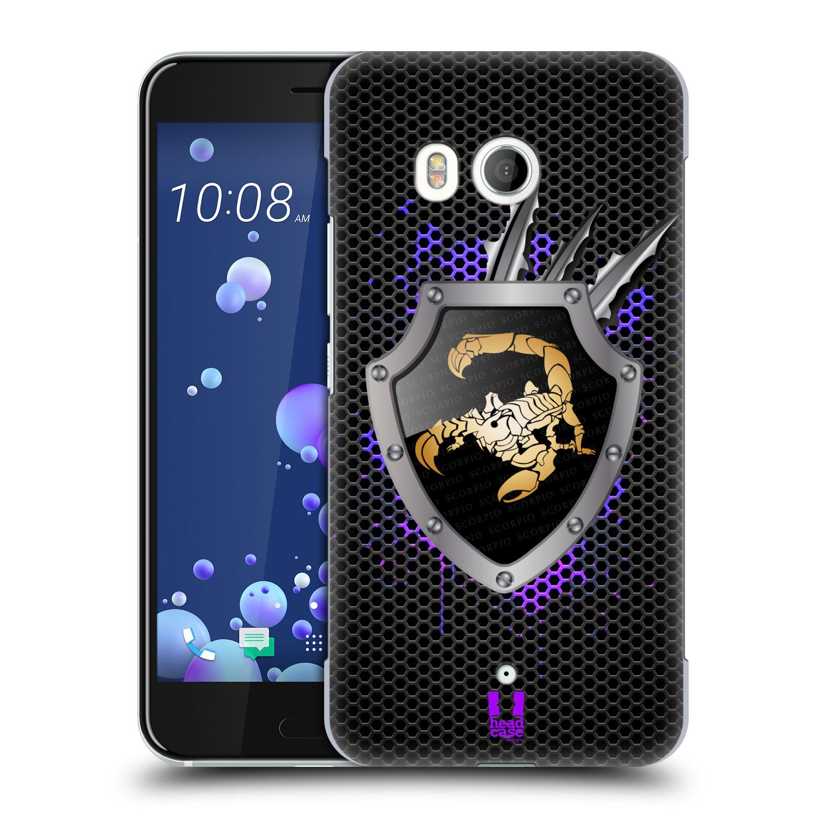 HEAD-CASE-DESIGNS-ZODIAQUE-METALLIQUE-ETUI-COQUE-D-039-ARRIERE-POUR-HTC-U11-DUAL