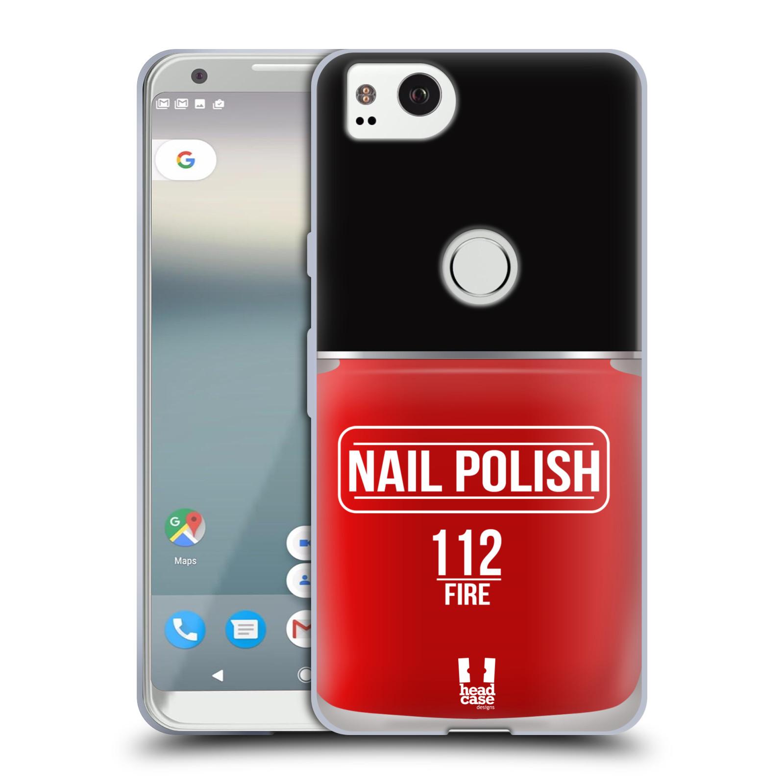 Head Case Designs Nail Polish Soft Gel Case For Amazon M4tel Phones