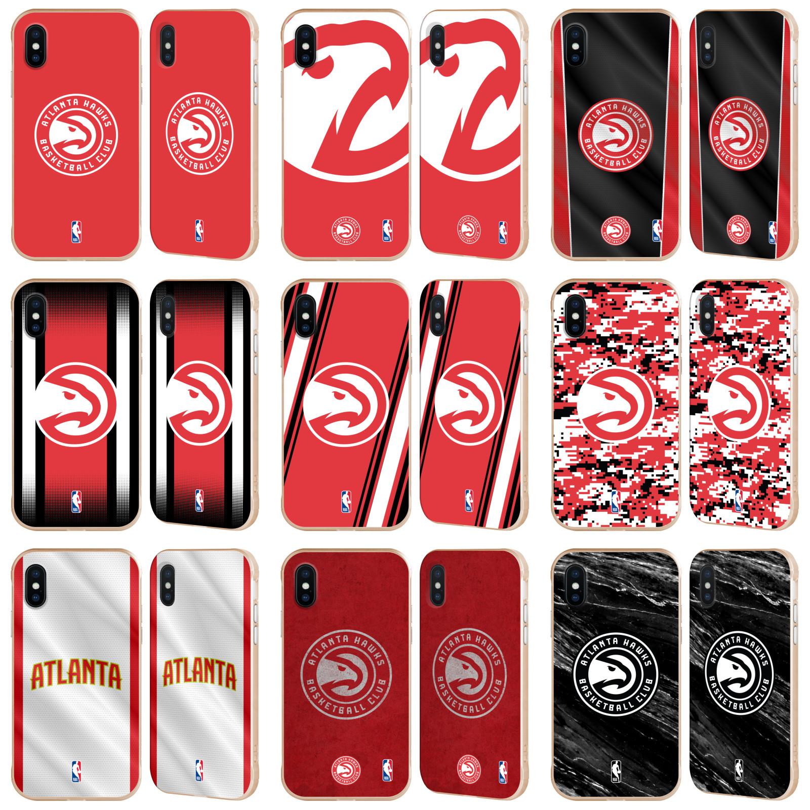 6eb9f98fa72 OFFICIAL NBA ATLANTA HAWKS GOLD FENDER CASE FOR APPLE iPHONE PHONES ...