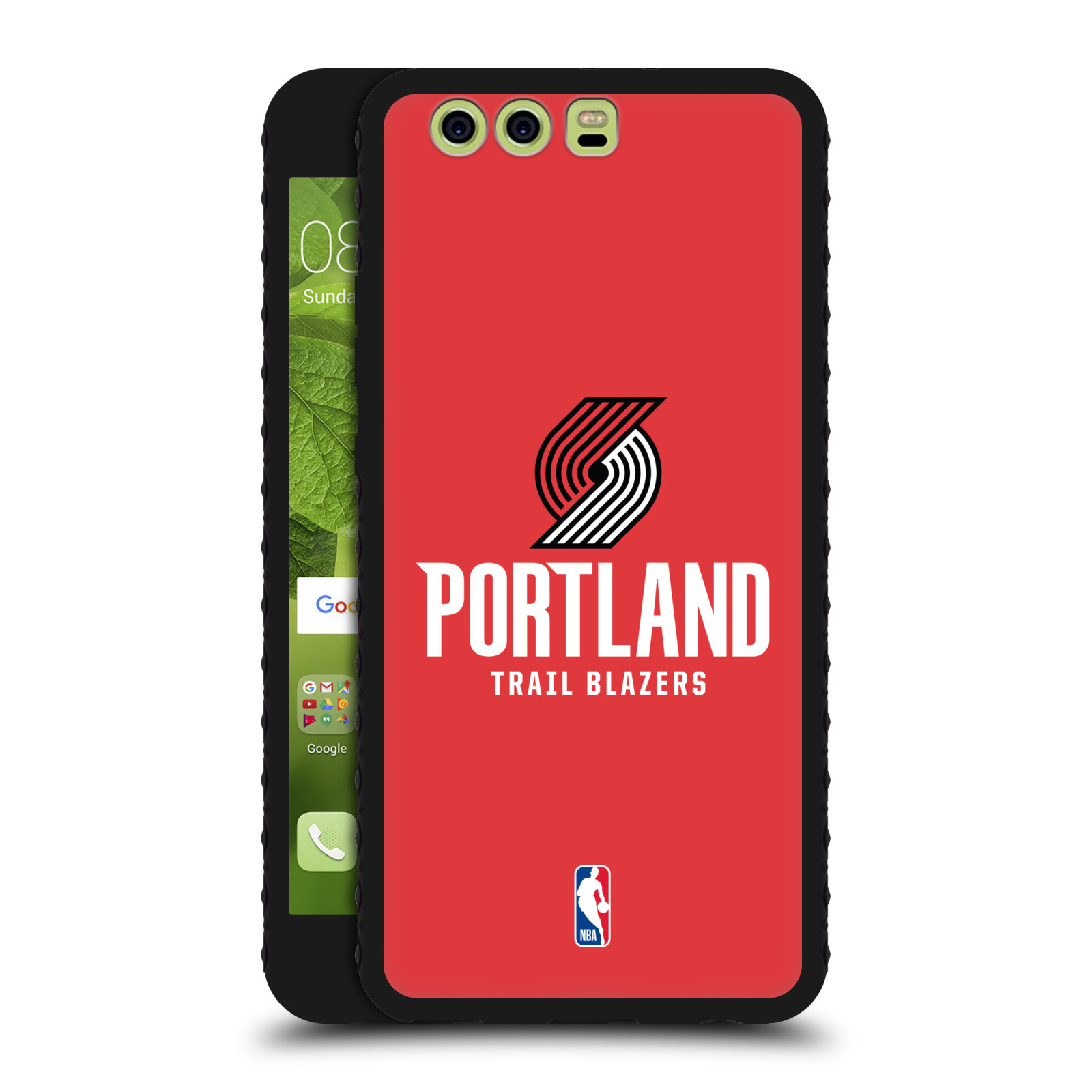 OFFICIAL-NBA-PORTLAND-TRAIL-BLAZERS-BLACK-ARMOUR-LITE-CASE-FOR-HUAWEI-PHONES