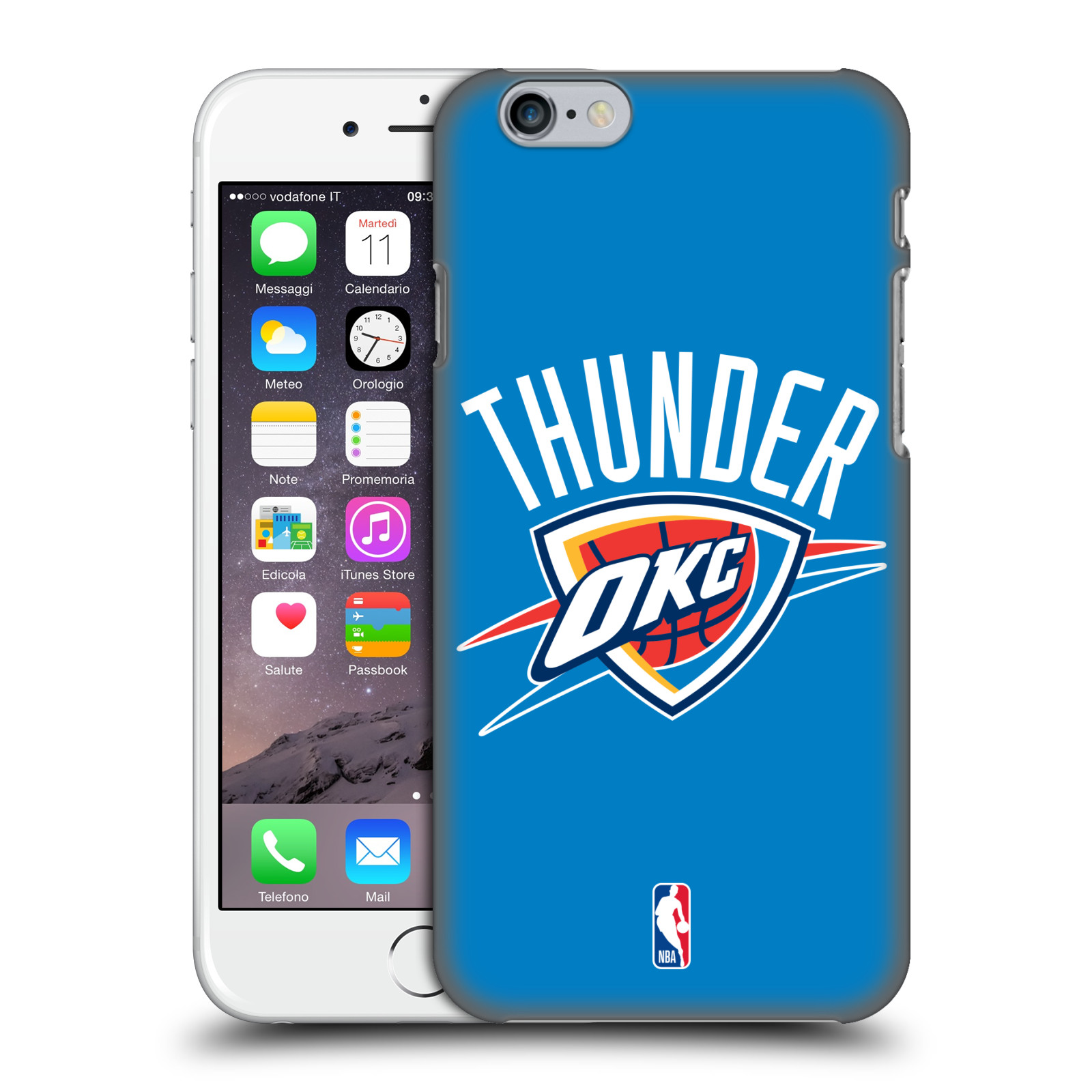 nba iphone cases official nba oklahoma city thunder back for 12677