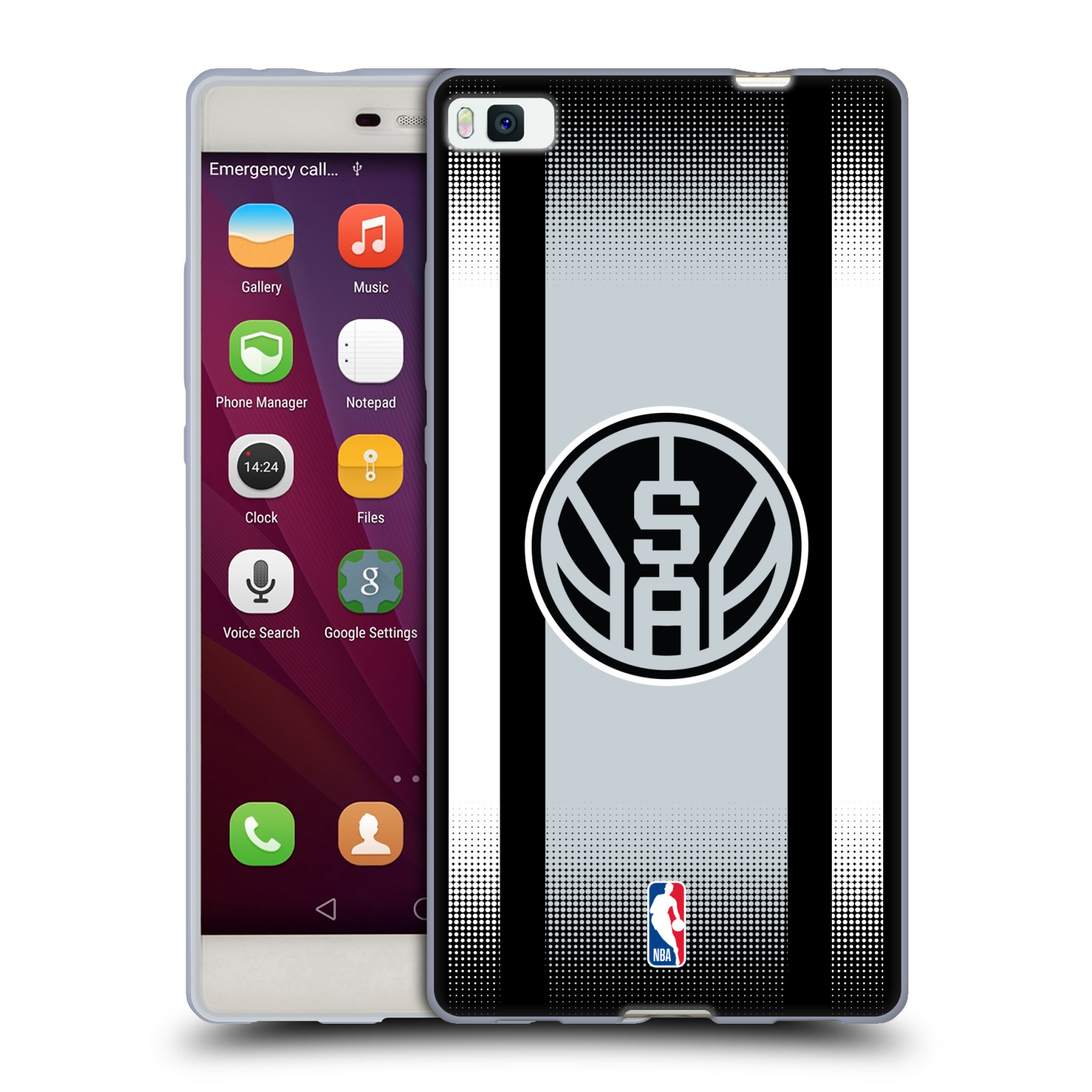 coque huawei p8 lite 2017 nba spurs