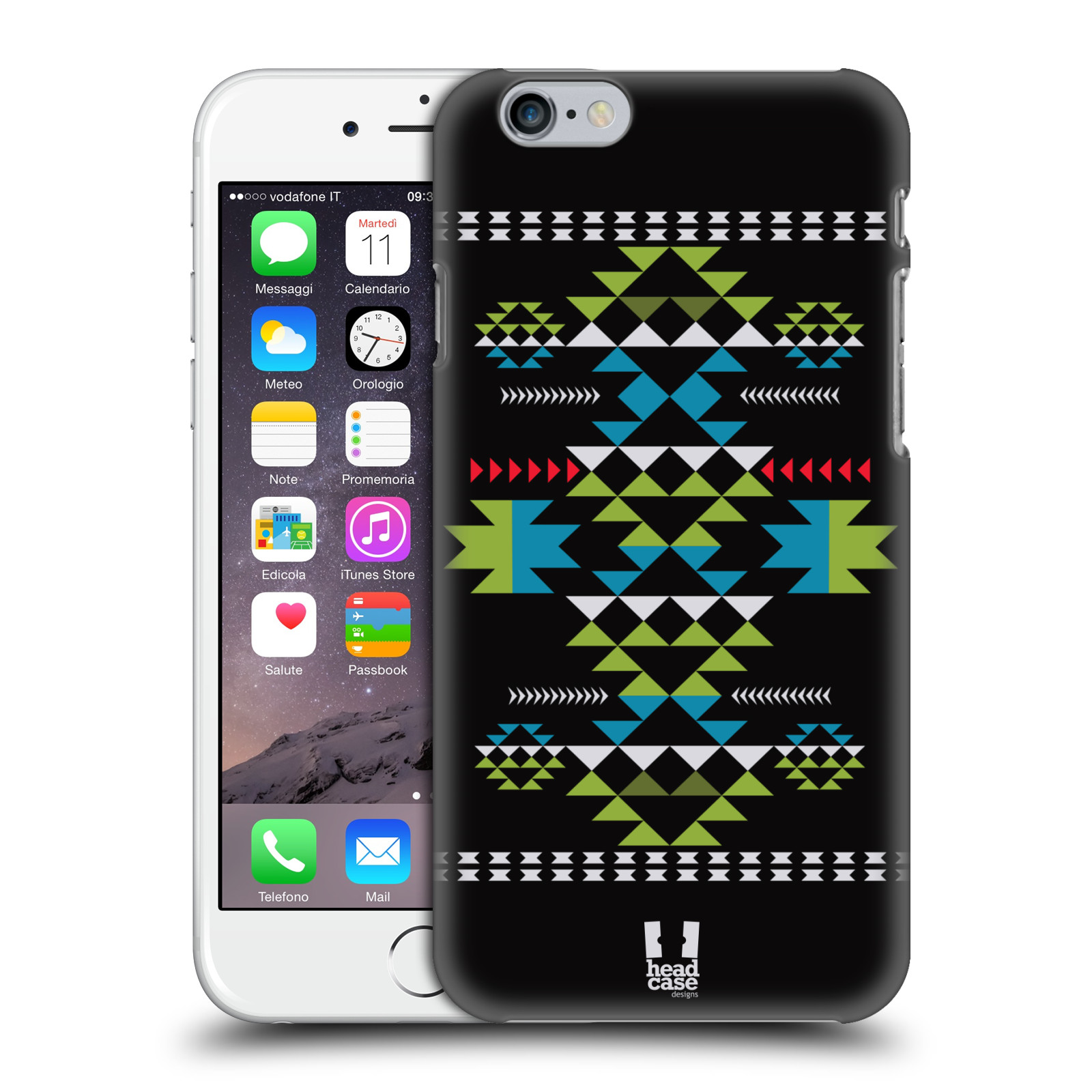 HEAD-CASE-DESIGNS-NEO-NAVAJO-COVER-RETRO-RIGIDA-PER-APPLE-iPHONE-TELEFONI