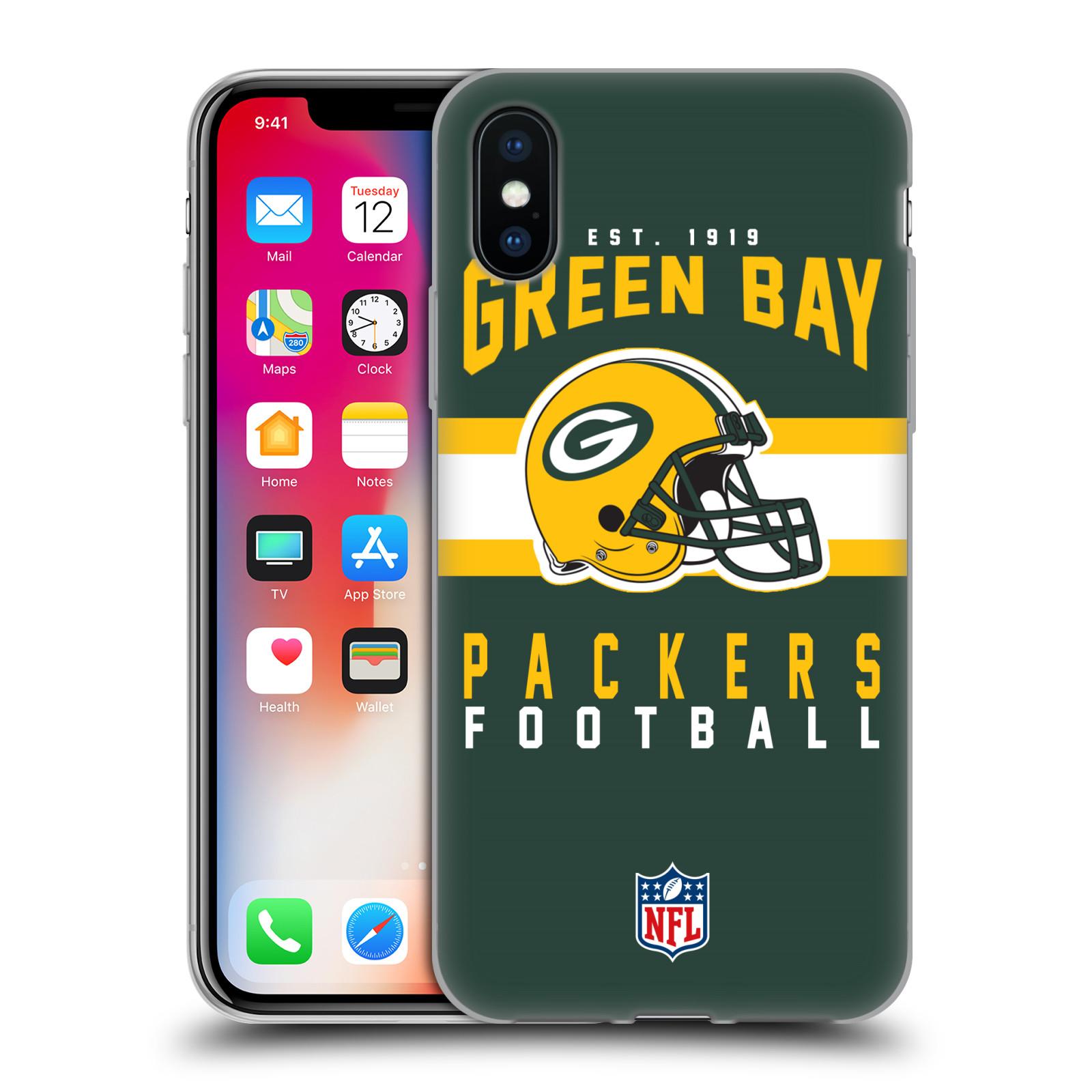 UFFICIALE-NFL-2018-19-GREEN-BAY-PACKERS-CASE-IN-GEL-PER-APPLE-iPHONE-TELEFONI