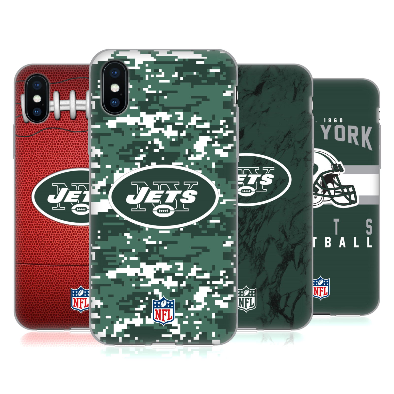 Official NFL 2018/19 New York Jets Logo