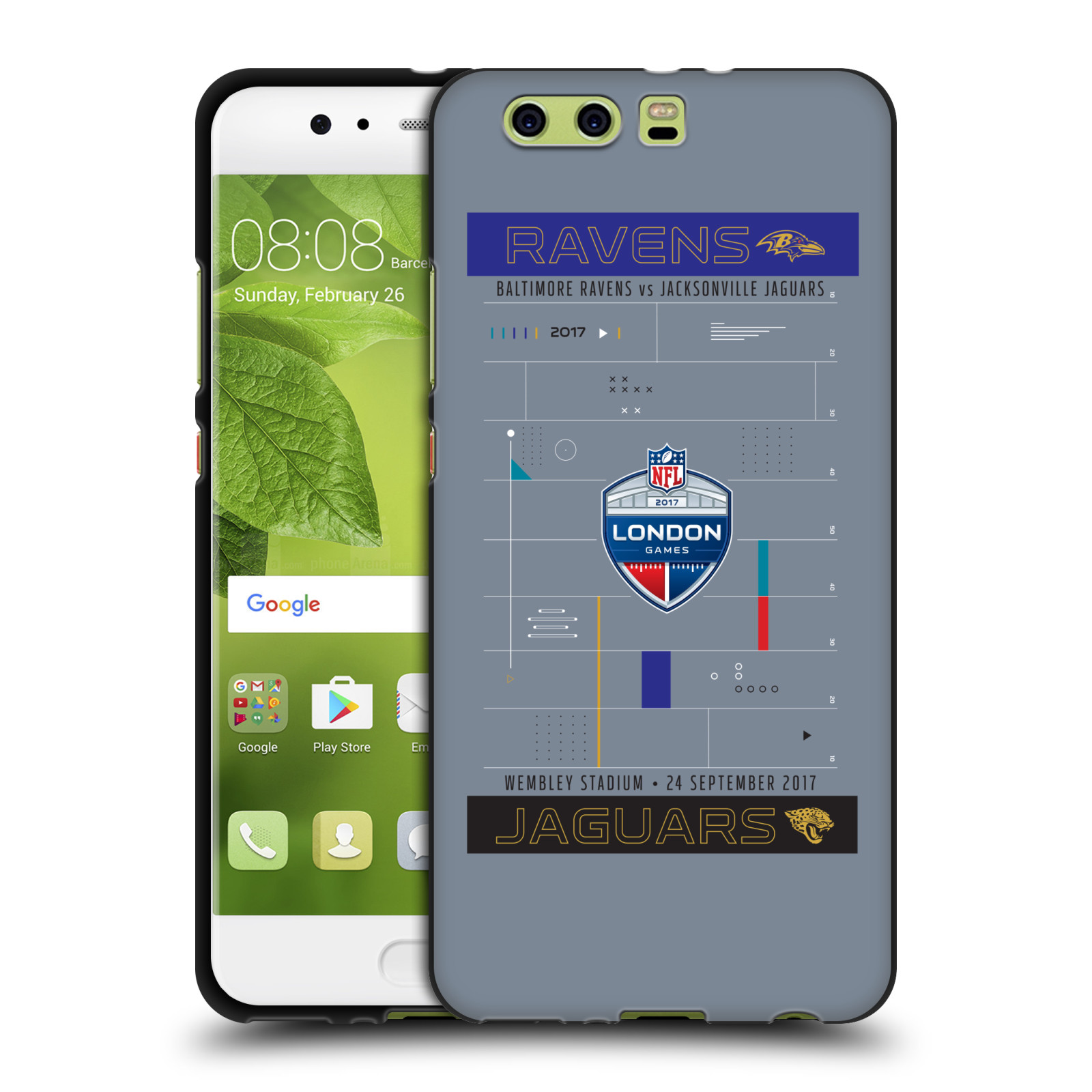OFFICIAL-NFL-2017-LONDON-GAMES-TEAM-VERSUS-BLACK-SOFT-GEL-CASE-FOR-HUAWEI-PHONES