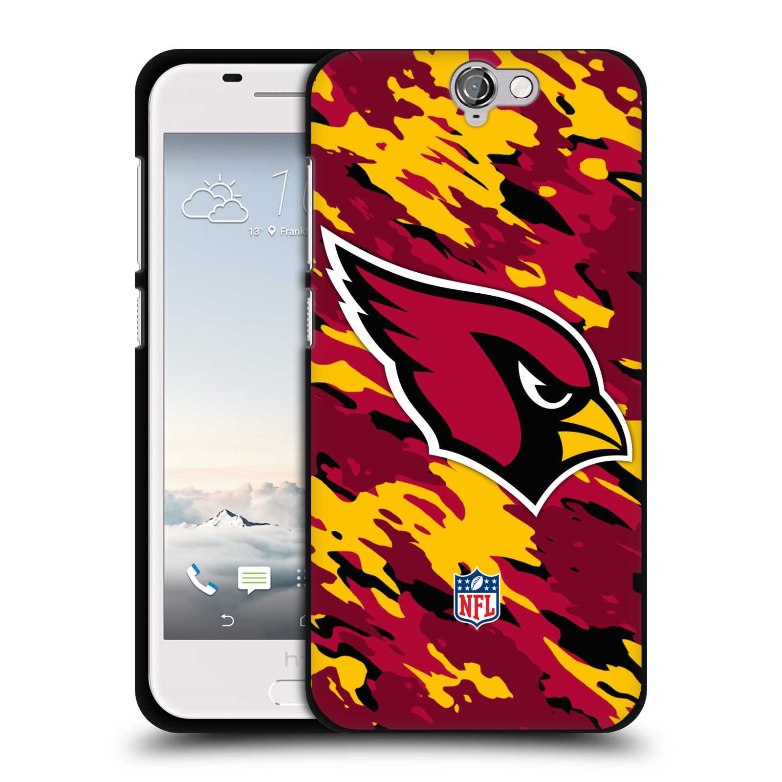 OFFICIAL-NFL-ARIZONA-CARDINALS-LOGO-BLACK-SOFT-GEL-CASE-FOR-HTC-PHONES