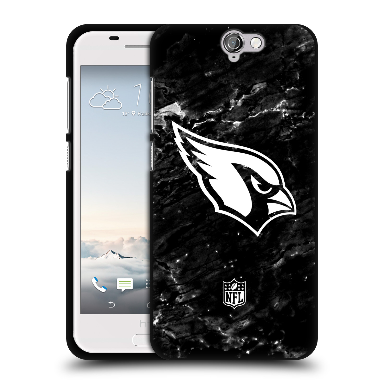 OFFICIAL-NFL-2017-18-ARIZONA-CARDINALS-BLACK-SOFT-GEL-CASE-FOR-HTC-PHONES