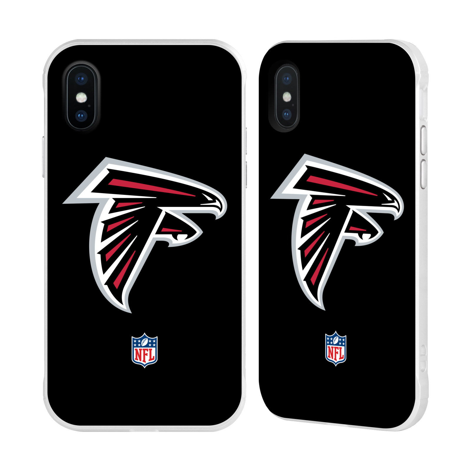 Official Nfl Atlanta Falcons Logo White Fender Case For Apple Iphone