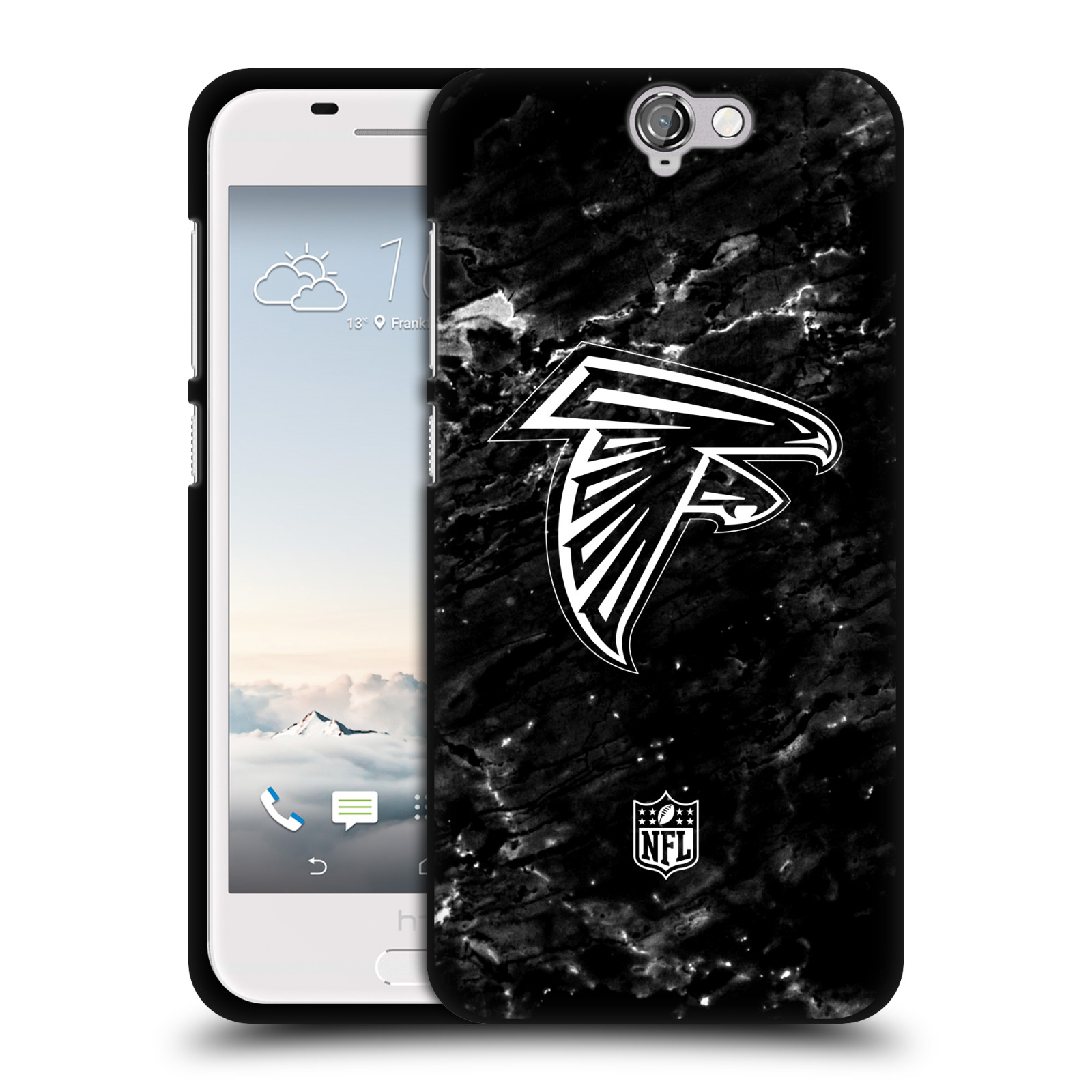 OFFICIAL-NFL-2017-18-ATLANTA-FALCONS-BLACK-SOFT-GEL-CASE-FOR-HTC-PHONES