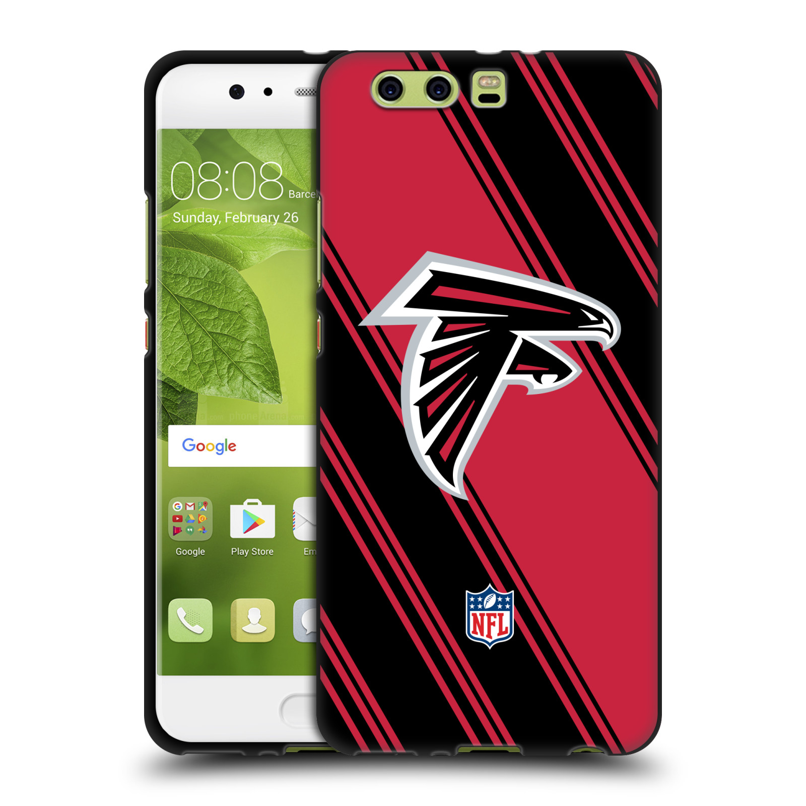 OFFICIAL-NFL-2017-18-ATLANTA-FALCONS-BLACK-SOFT-GEL-CASE-FOR-HUAWEI-PHONES