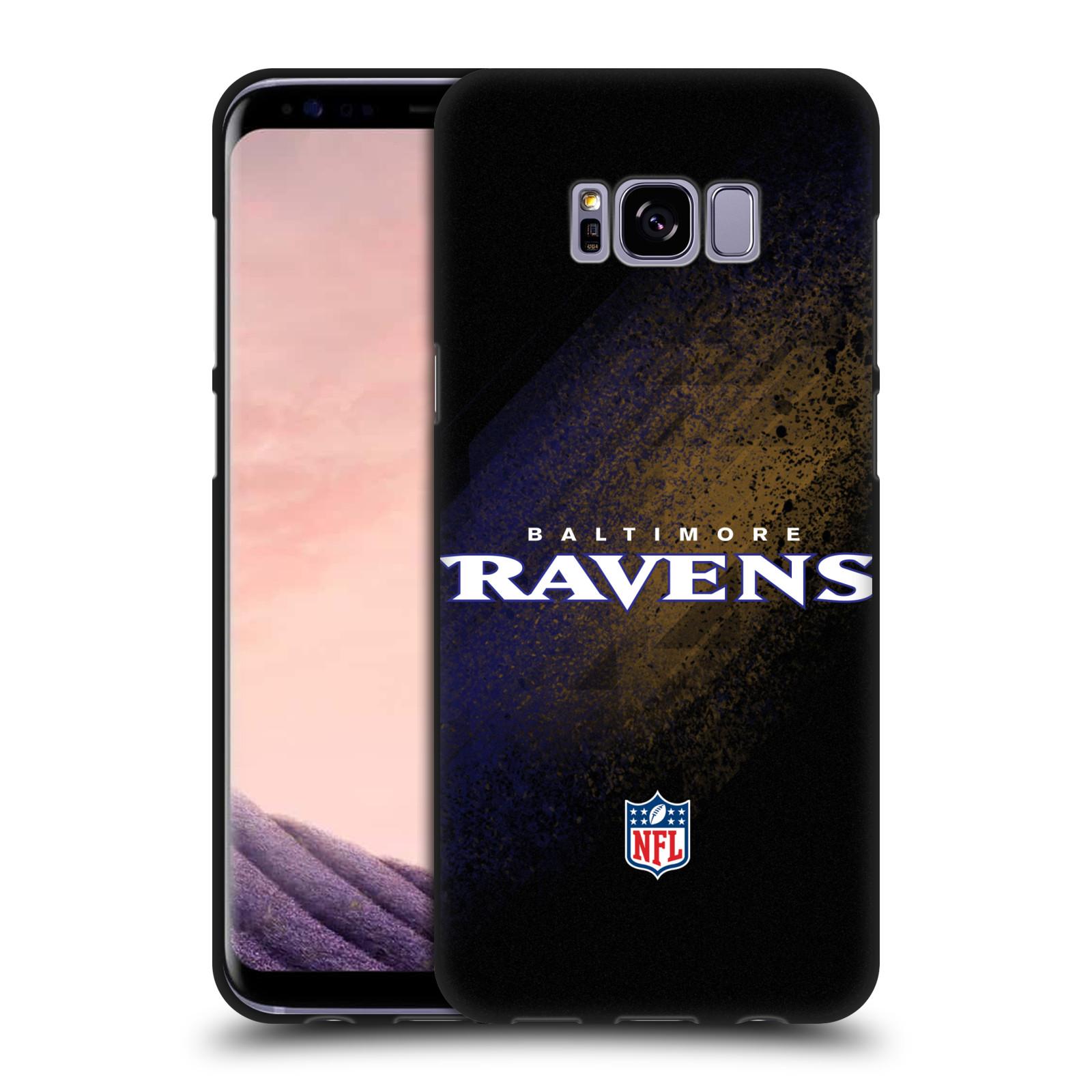 Logotipo-oficial-de-la-NFL-Baltimore-Ravens-Negro-caso-De-Gel-Suave-Para-Telefonos-Samsung-1