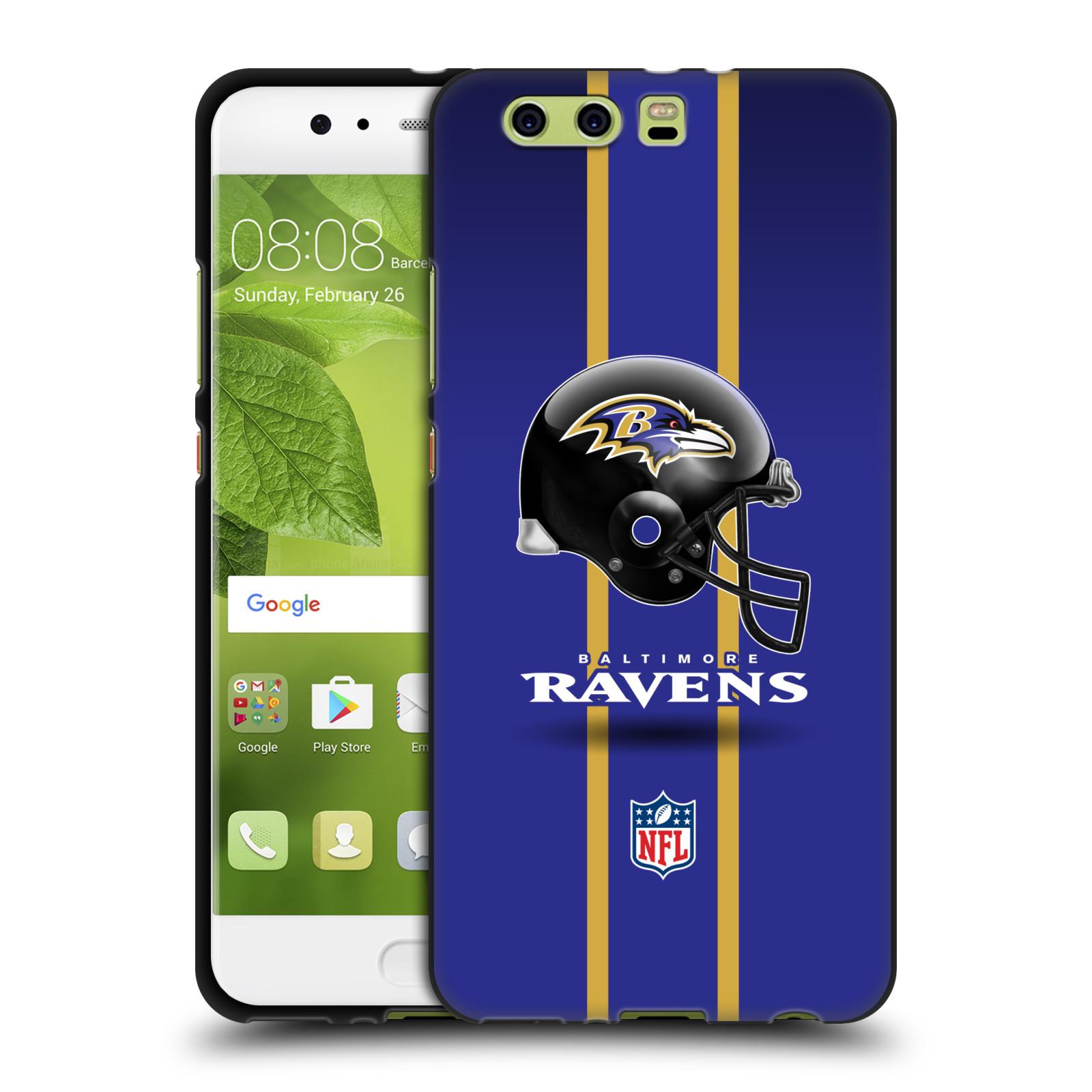 OFFICIAL-NFL-BALTIMORE-RAVENS-LOGO-BLACK-SOFT-GEL-CASE-FOR-HUAWEI-PHONES