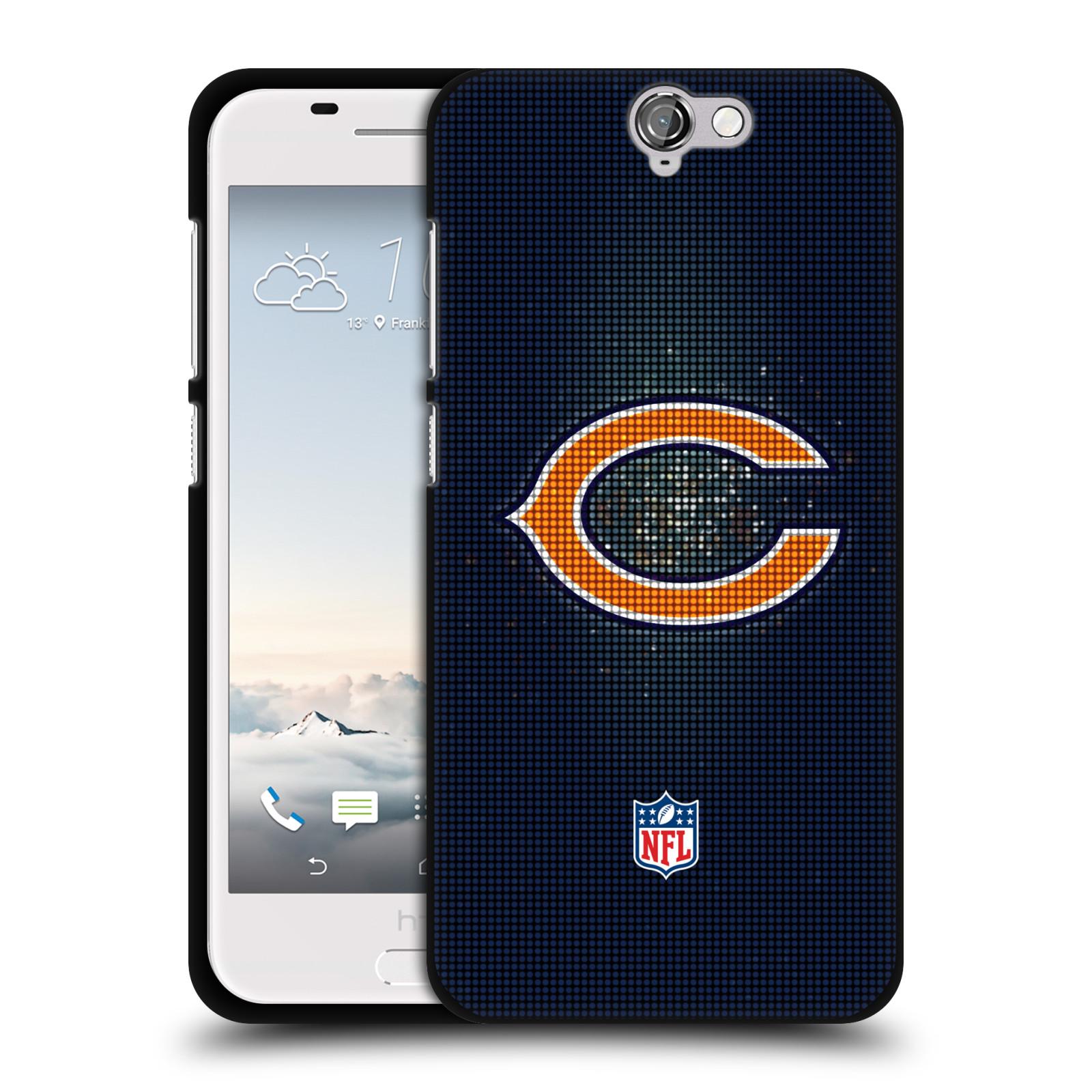 OFFICIAL-NFL-2017-18-CHICAGO-BEARS-BLACK-SOFT-GEL-CASE-FOR-HTC-PHONES