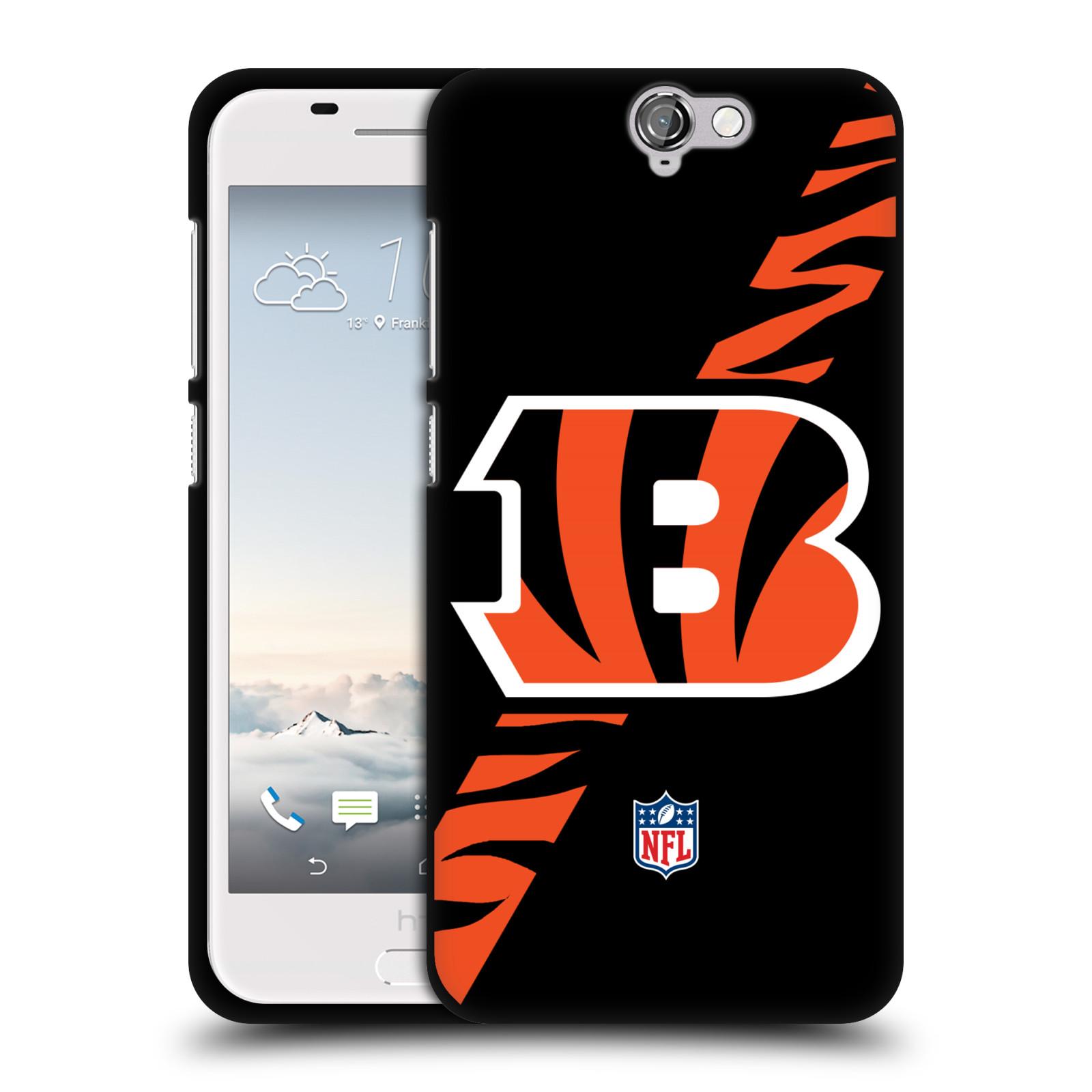 UFFICIALE-NFL-CINCINNATI-BENGALS-LOGO-COVER-IN-MORBIDO-GEL-NERA-PER-HTC-TELEFONI