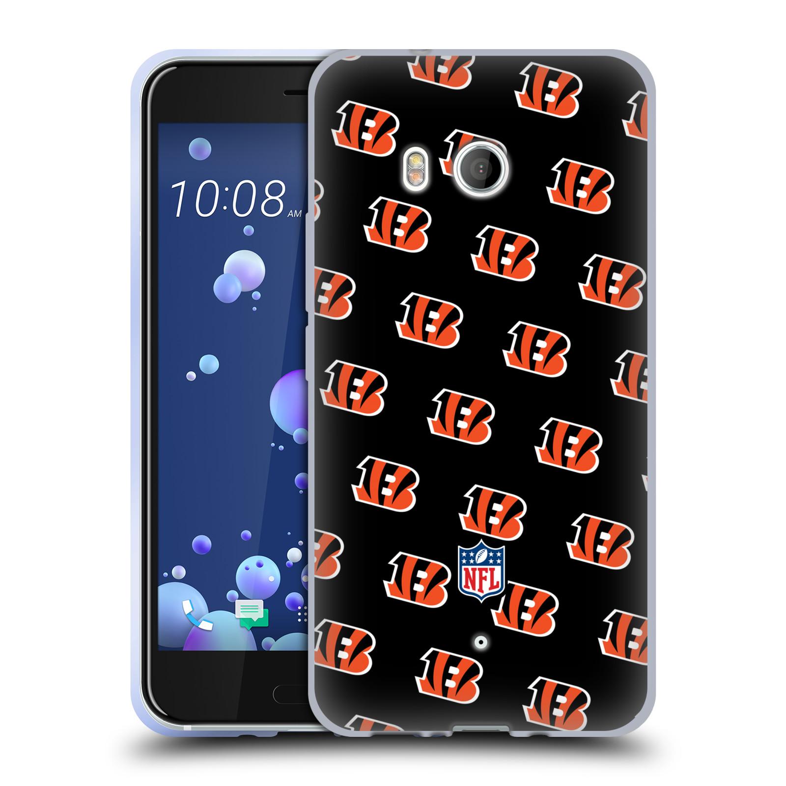 Oficial-de-la-NFL-2017-18-Cincinnati-Bengals-caso-De-Gel-Suave-para-TELEFONOS-HTC-1