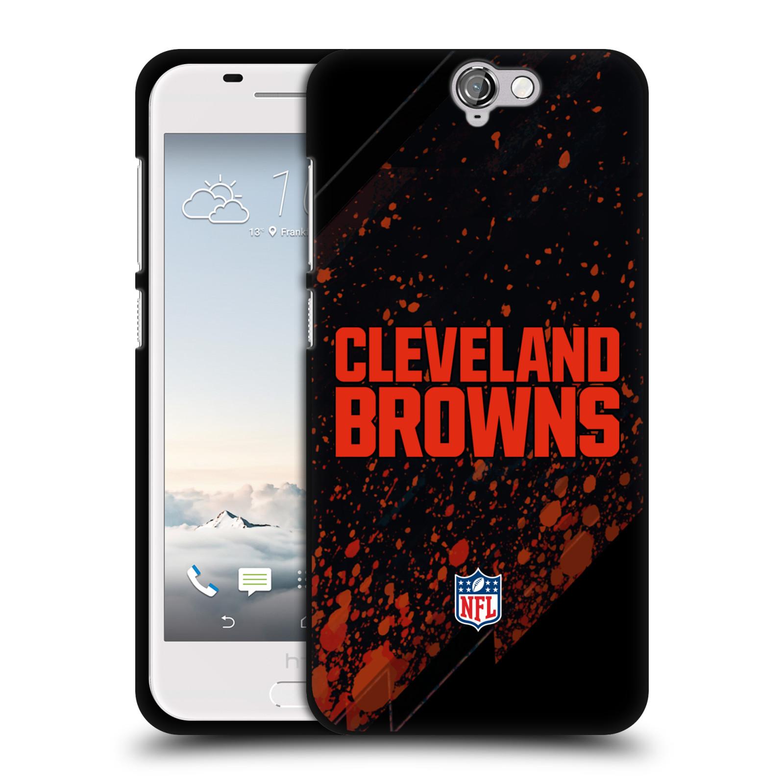 OFFIZIELLE-NFL-CLEVELAND-BROWNS-LOGO-SOFT-GEL-HULLE-SCHWARZ-FUR-HTC-HANDYS