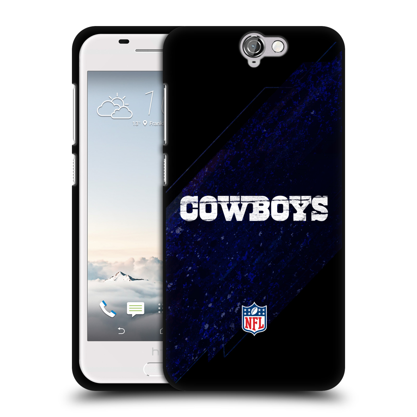 OFFICIAL-NFL-DALLAS-COWBOYS-LOGO-BLACK-SOFT-GEL-CASE-FOR-HTC-PHONES