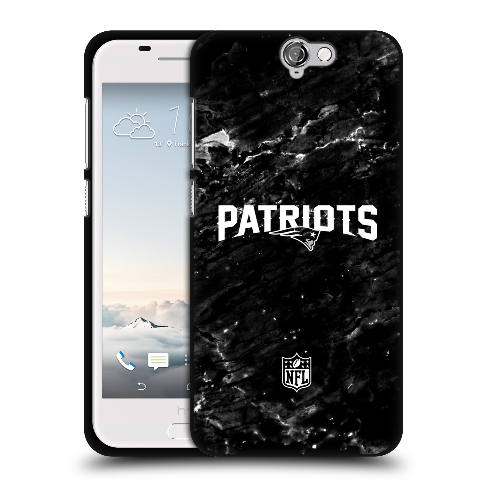 OFFICIAL-NFL-2017-18-NEW-ENGLAND-PATRIOTS-BLACK-SOFT-GEL-CASE-FOR-HTC-PHONES