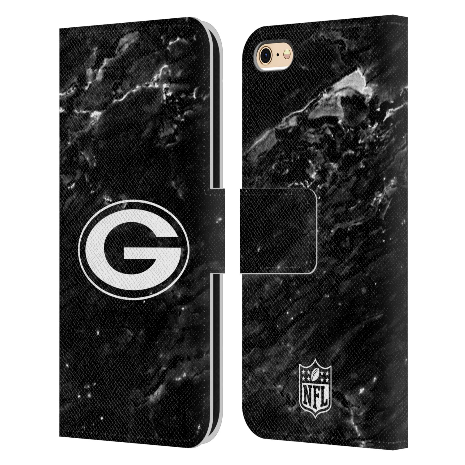 NFL-2017-18-GREEN-BAY-PACKERS-COVER-A-PORTAFOGLIO-PER-APPLE-iPHONE-TELEFONI