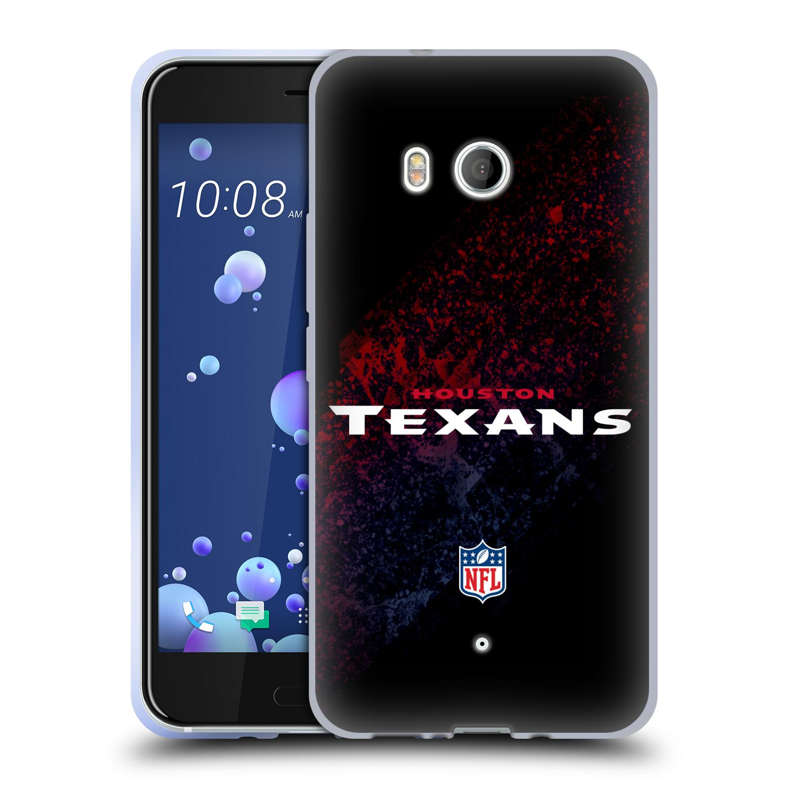 Logotipo-oficial-de-la-NFL-Houston-Texans-caso-De-Gel-Suave-para-TELEFONOS-HTC-1
