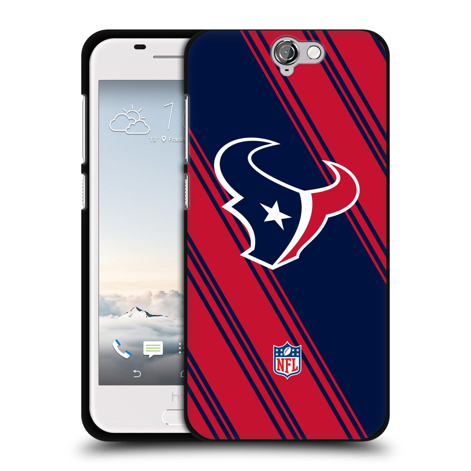 UFFICIALE-NFL-2017-18-HOUSTON-TEXANS-COVER-IN-MORBIDO-GEL-NERA-PER-HTC-TELEFONI