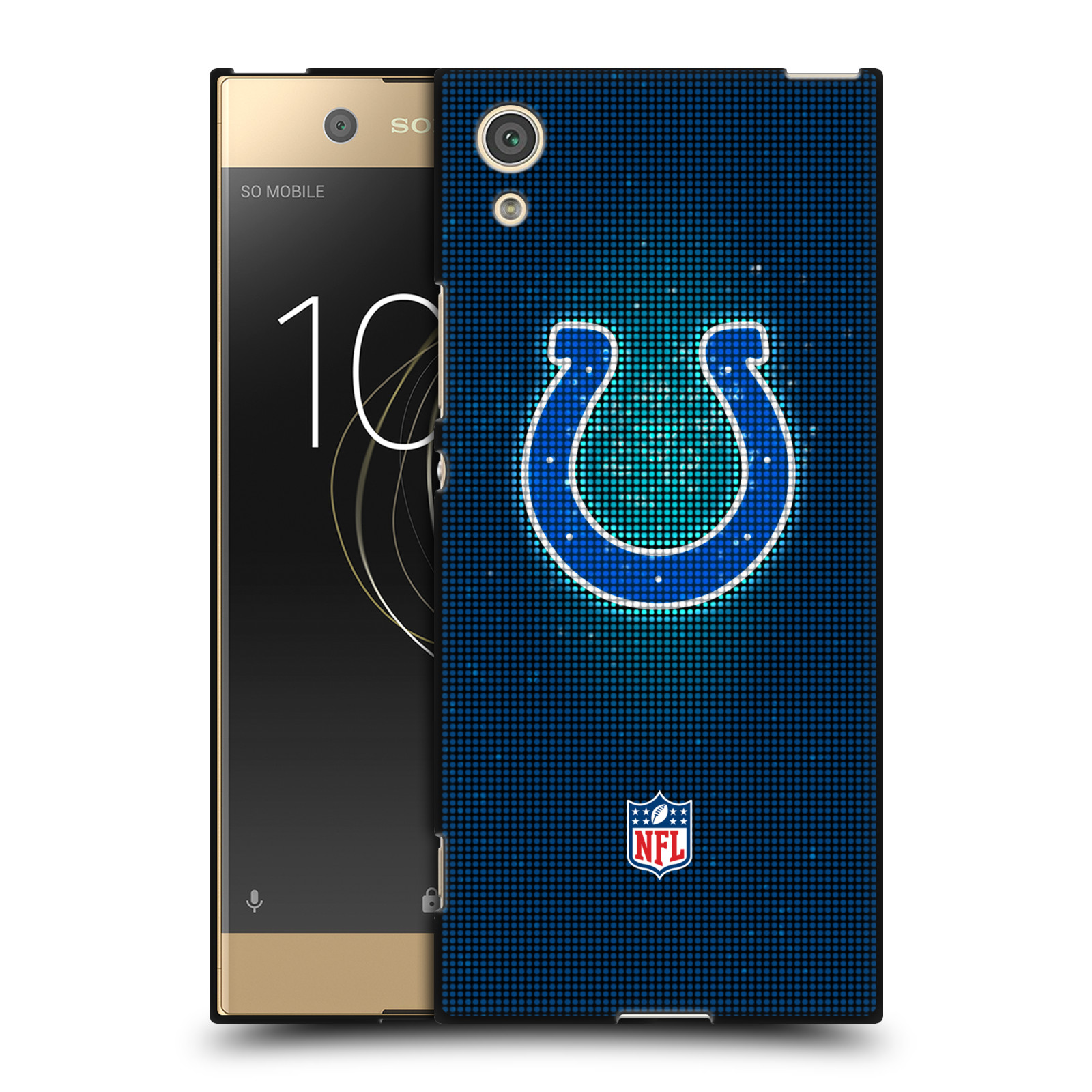 OFFIZIELLE-NFL-2017-18-INDIANAPOLIS-COLTS-SOFT-GEL-HULLE-SCHWARZ-FUR-SONY-HANDYS