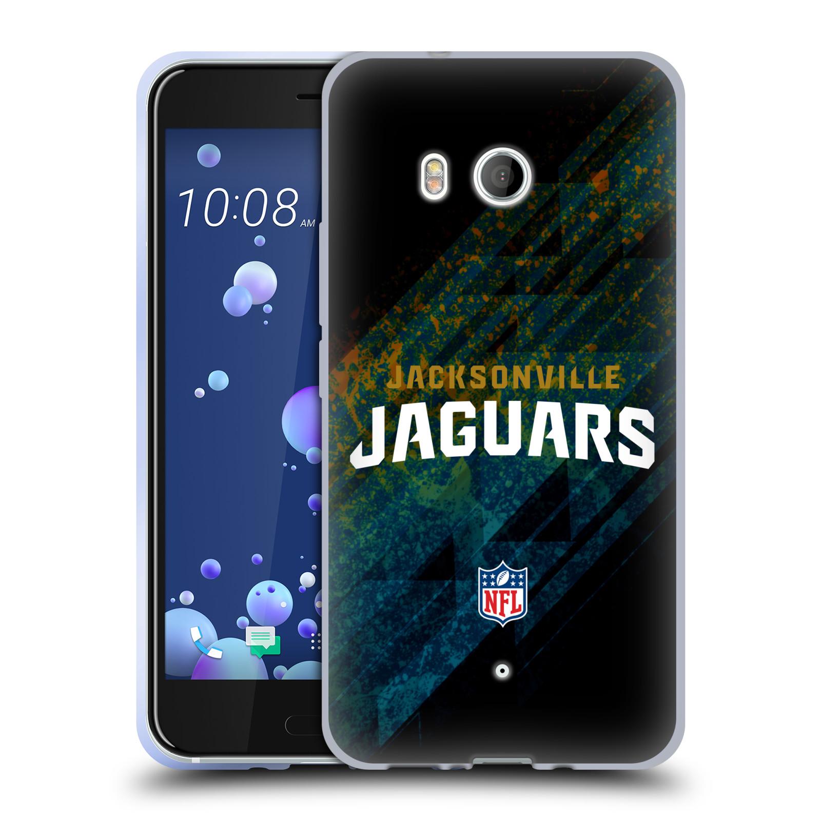 Logotipo-NFL-Jacksonville-Jaguars-oficial-Caso-De-Gel-Suave-para-TELEFONOS-HTC-1
