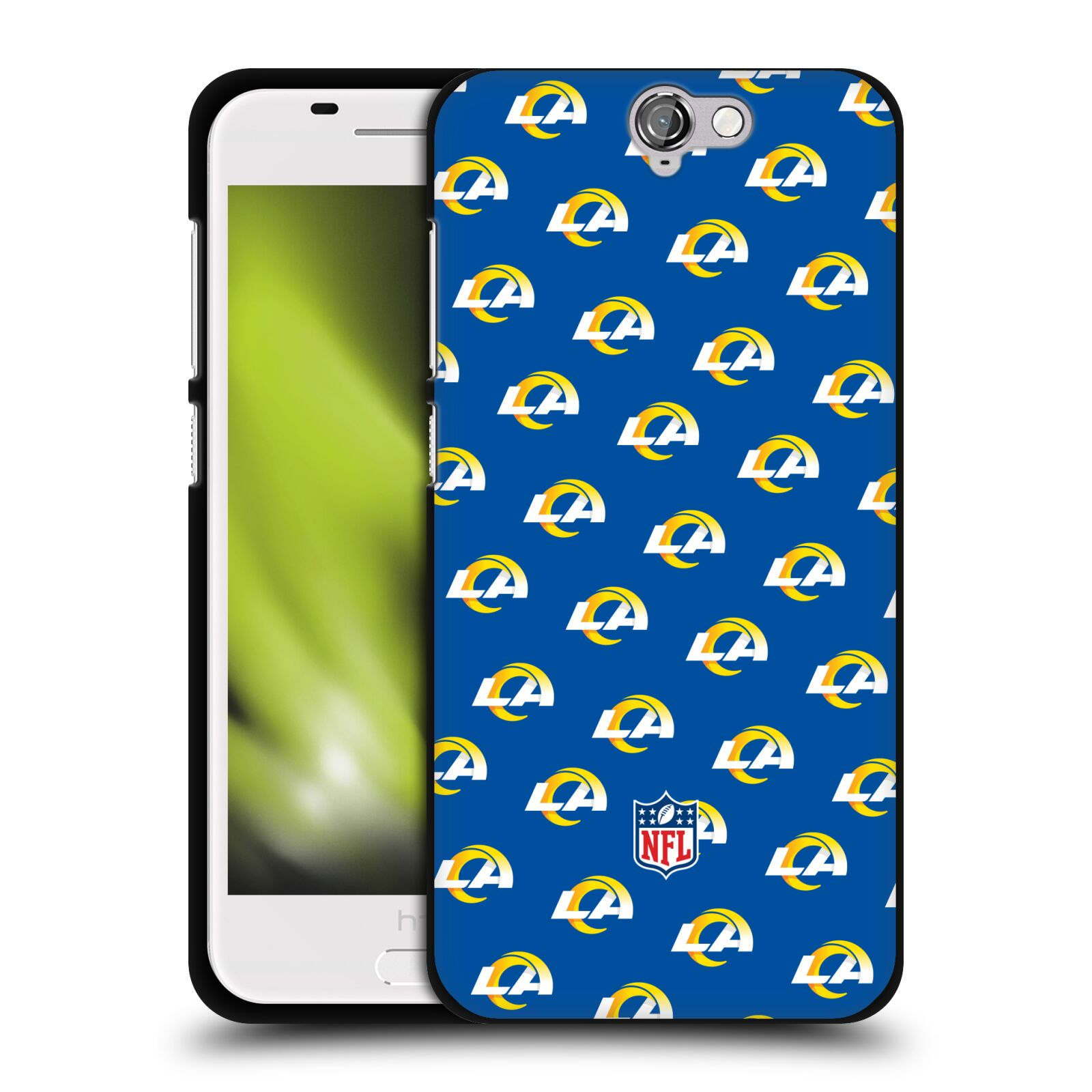 OFFICIEL-NFL-2017-18-LOS-ANGELES-RAMS-COQUE-EN-GEL-DOUX-NOIR-POUR-HTC-TELEPHONES