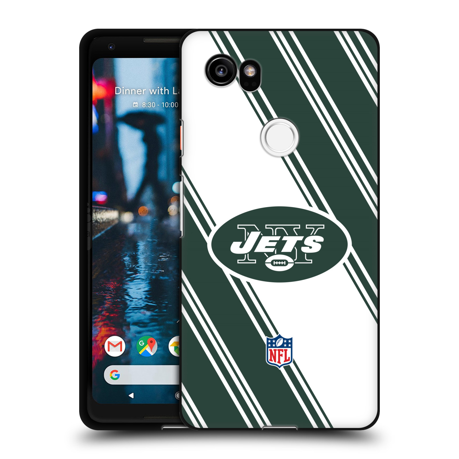 Officiel-NFL-2017-18-New-York-Jets-Logo-Noir-Gel-souple-Coque-Pour-Google-Phones