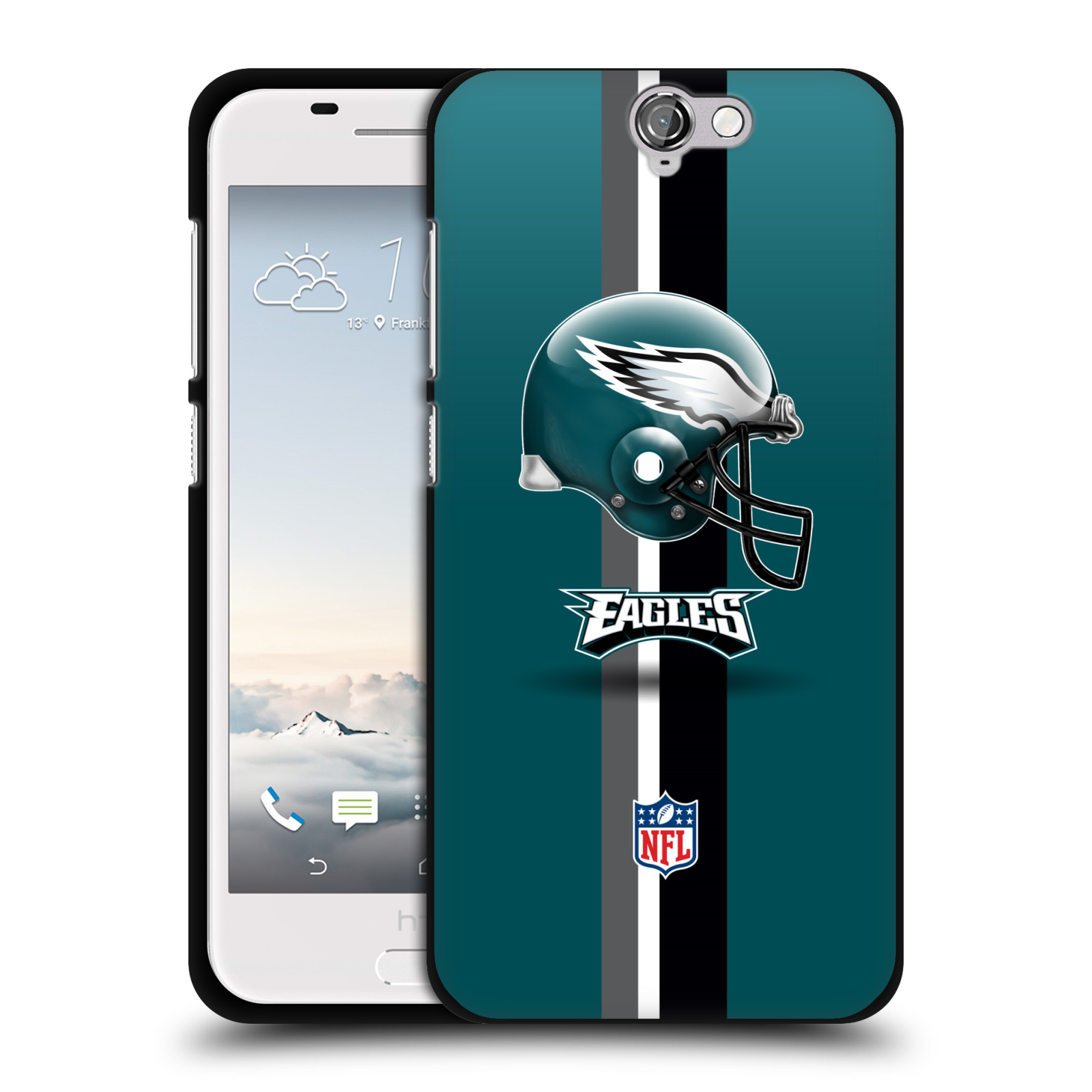 OFFICIAL-NFL-PHILADELPHIA-EAGLES-LOGO-BLACK-SOFT-GEL-CASE-FOR-HTC-PHONES