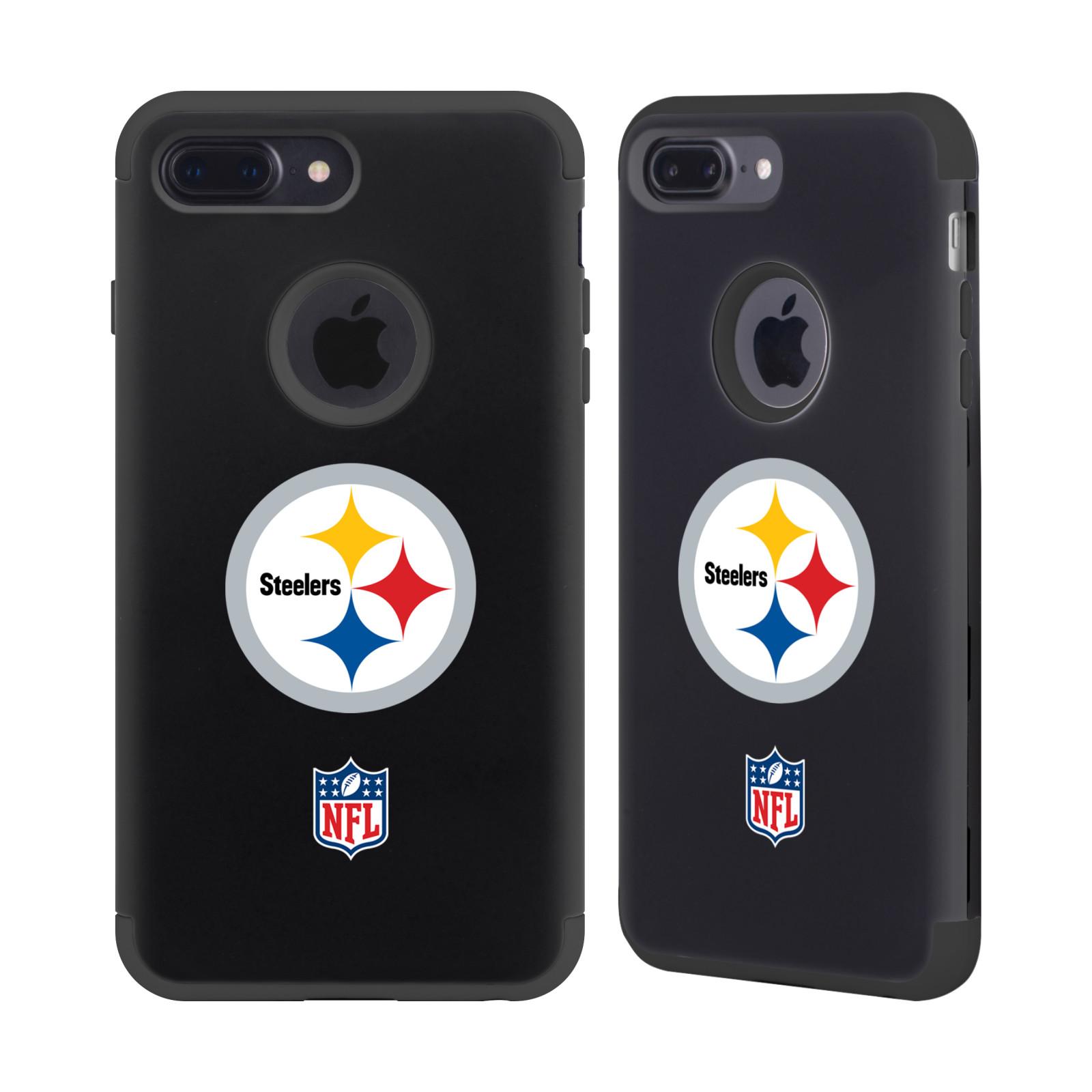NFL-PITTSBURGH-STEELERS-LOGO-2-BLACK-GUARDIAN-CASE-FOR-APPLE-iPHONE-PHONES