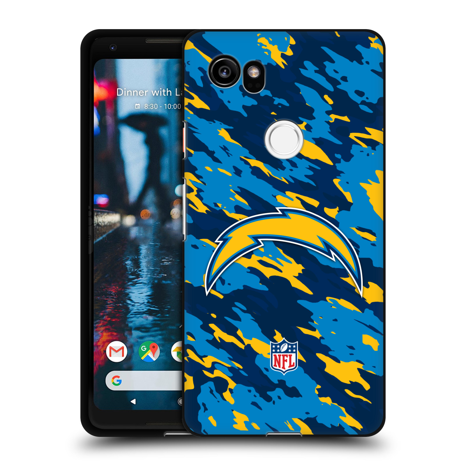 UFFICIALE-NFL-LOS-ANGELES-CHARGERS-LOGO-COVER-IN-GEL-NERA-PER-GOOGLE-TELEFONI