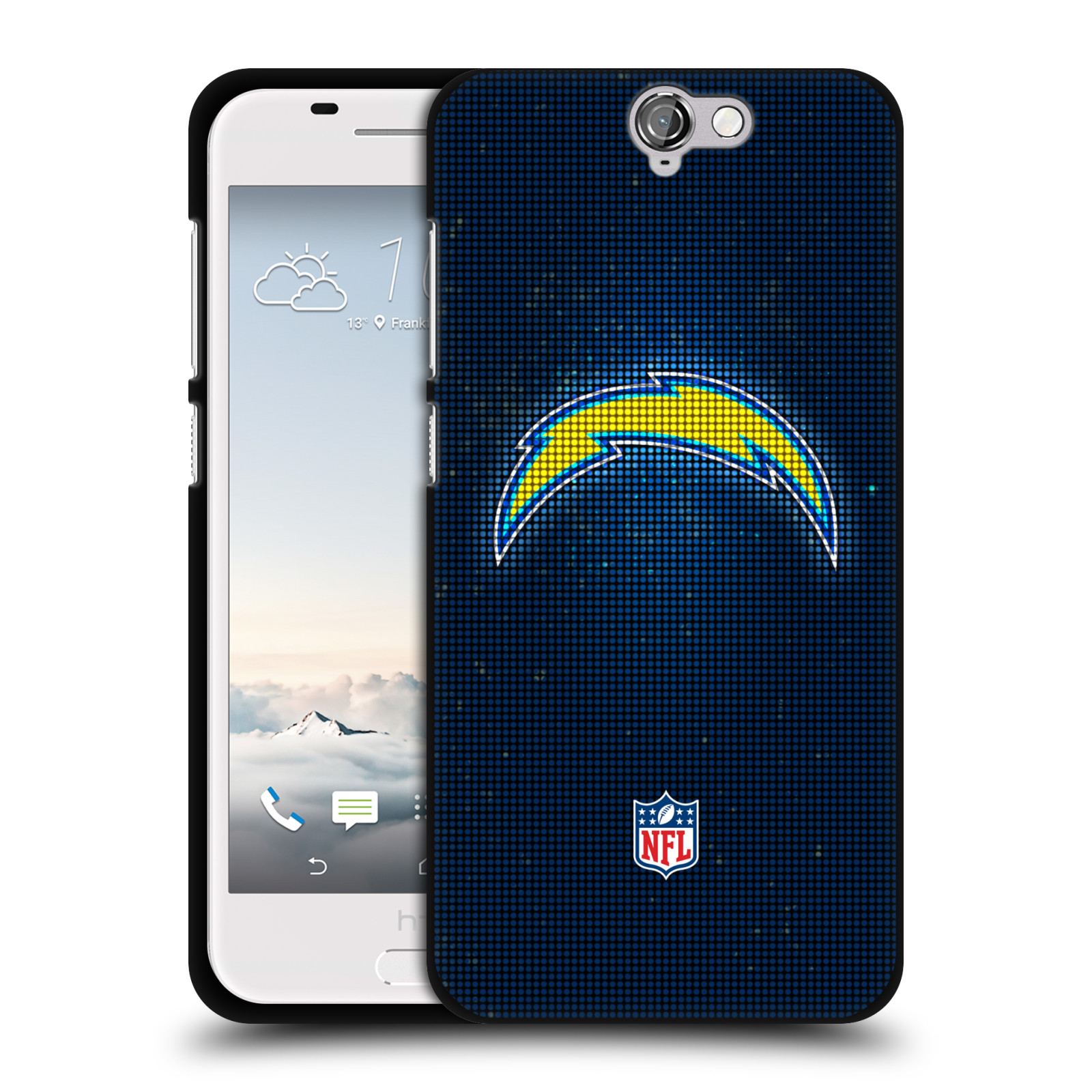 OFFICIAL-NFL-2017-18-LOS-ANGELES-CHARGERS-BLACK-SOFT-GEL-CASE-FOR-HTC-PHONES