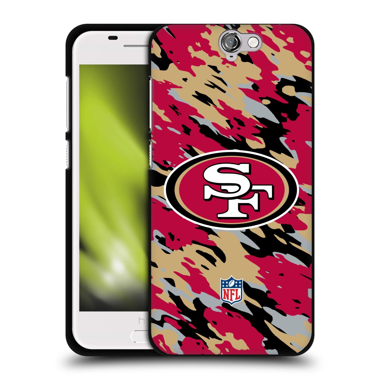 OFFICIAL-NFL-SAN-FRANCISCO-49ERS-LOGO-BLACK-SOFT-GEL-CASE-FOR-HTC-PHONES