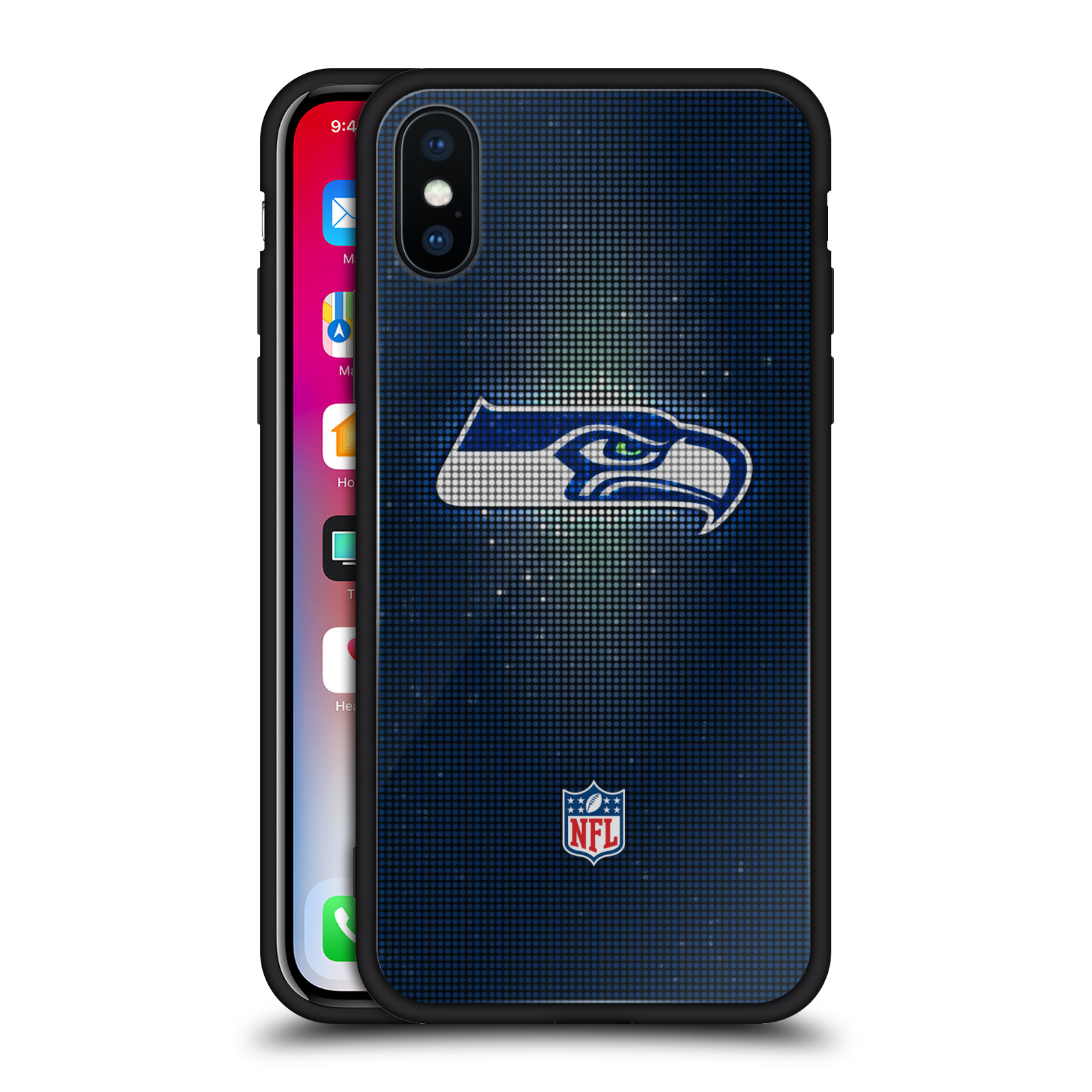 OFFICIAL-NFL-2017-18-SEATTLE-SEAHAWKS-BLACK-HYBRID-GLASS-CASE-FOR-iPHONE-PHONES