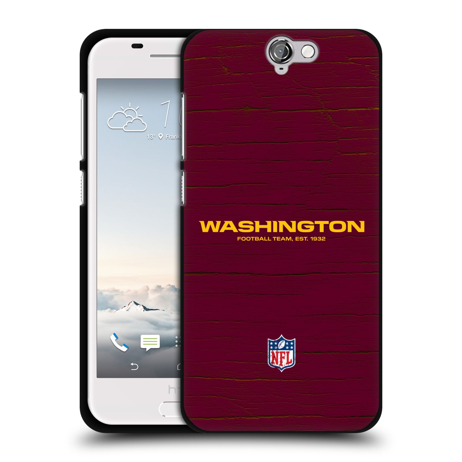 OFFICIAL-NFL-WASHINGTON-REDSKINS-LOGO-BLACK-SOFT-GEL-CASE-FOR-HTC-PHONES