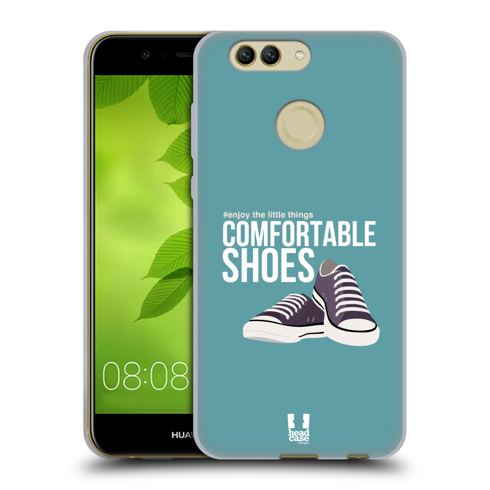 HEAD CASE DESIGNS ENJOY THE LITTLE THINGS SOFT GEL HÜLLE FÜR HUAWEI NOVA 2 PLUS