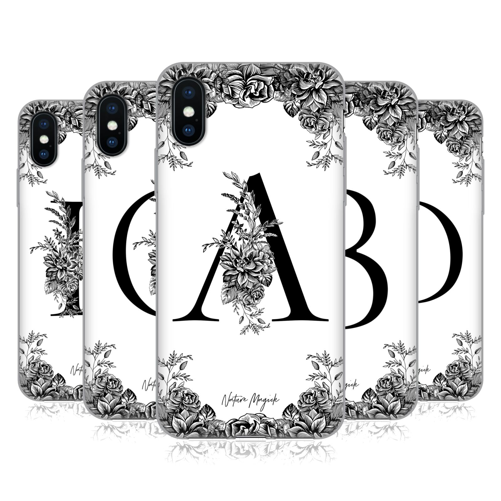Nature Magick <!--translate-lineup-->B & W Floral Monogram 1<!--translate-lineup-->