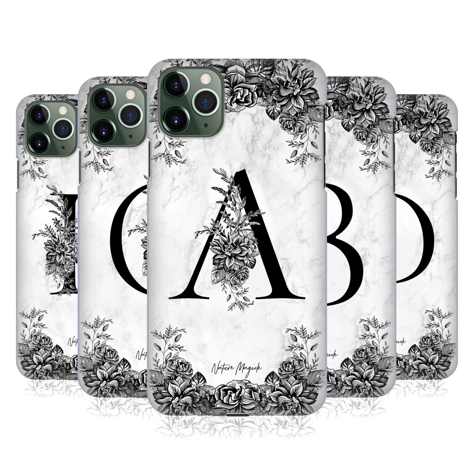 Official Nature Magick B&W Marble Monogram 1