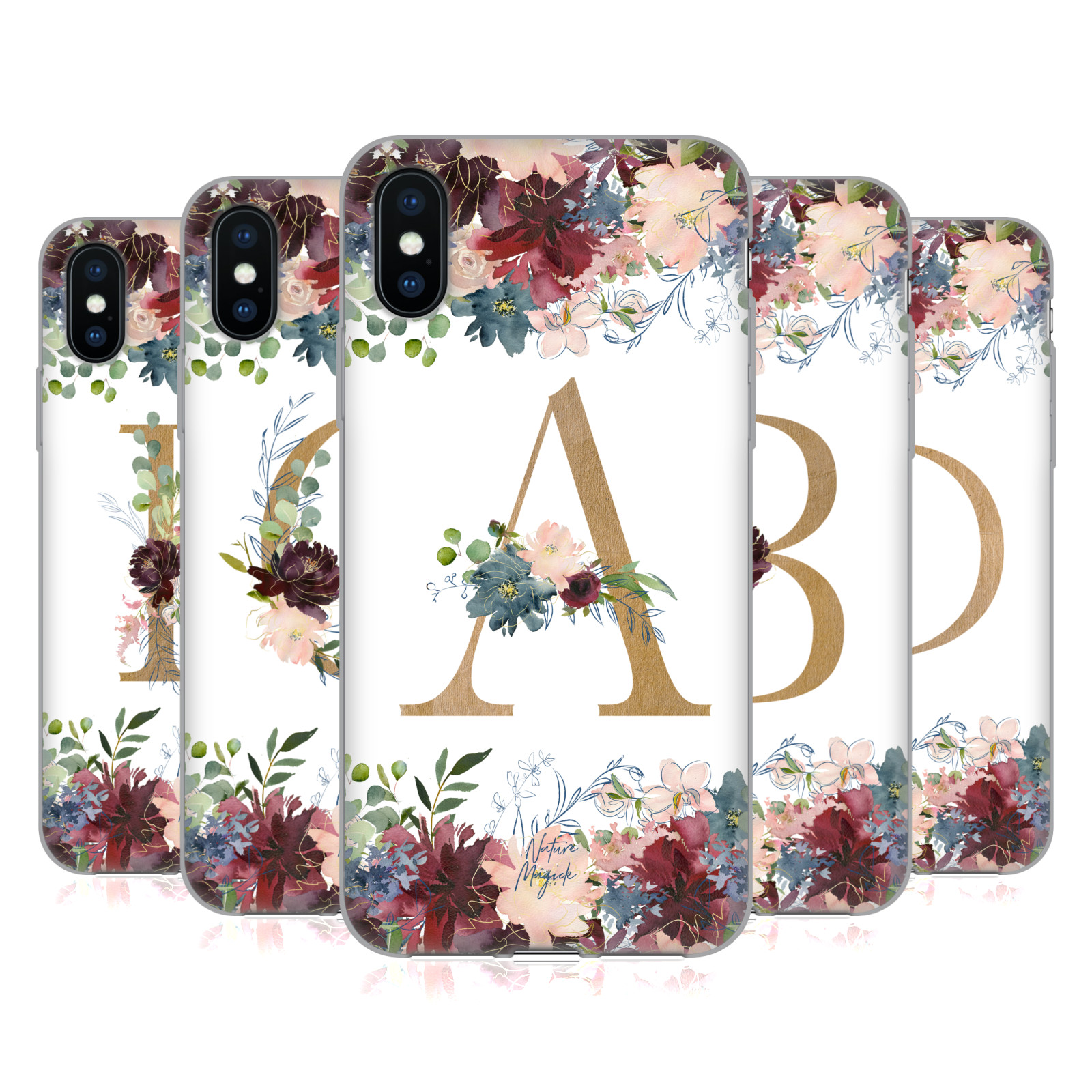 Nature Magick <!--translate-lineup-->Flowers Monogram Floral Gold<!--translate-lineup-->