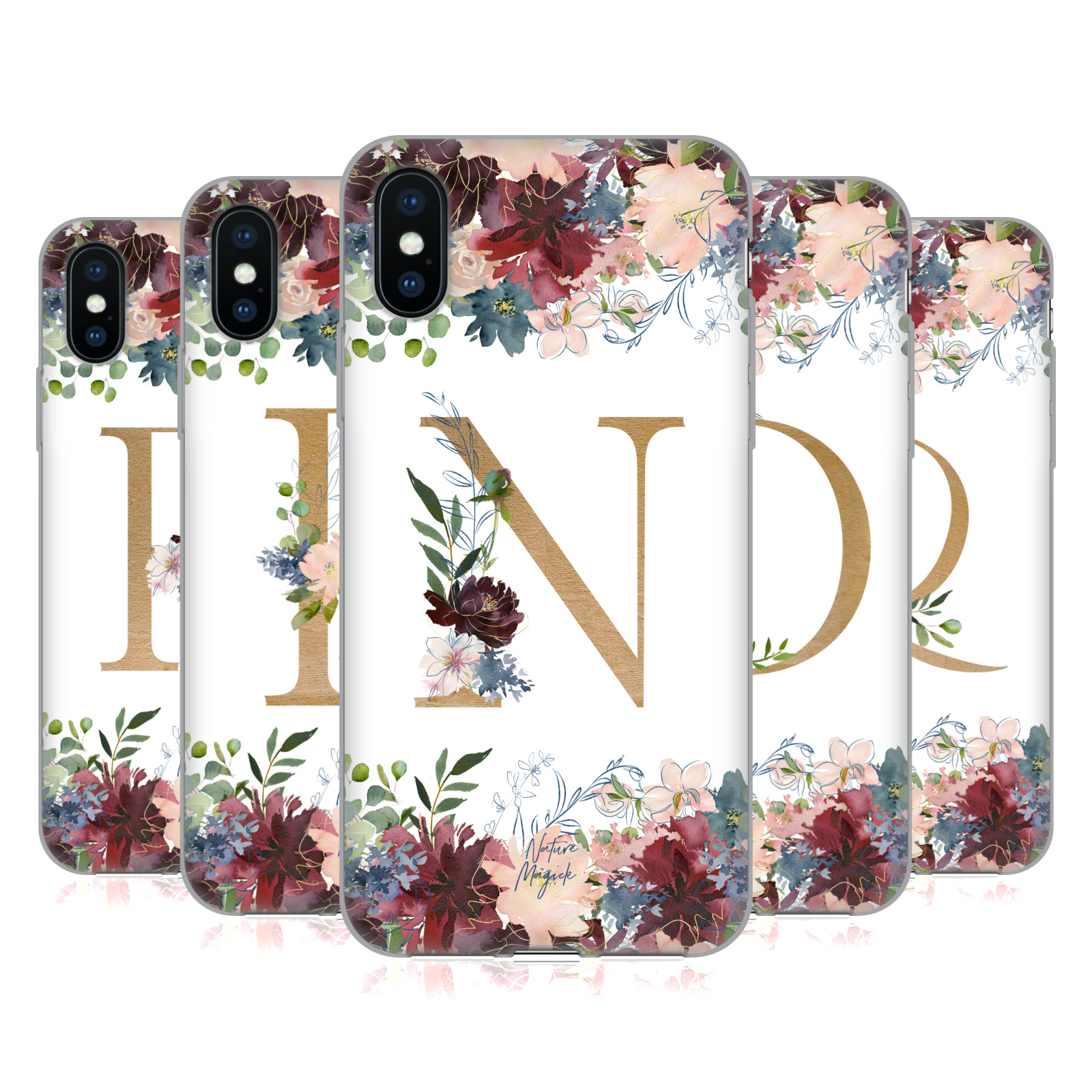 Nature Magick <!--translate-lineup-->Flowers Monogram Floral Gold 2<!--translate-lineup-->