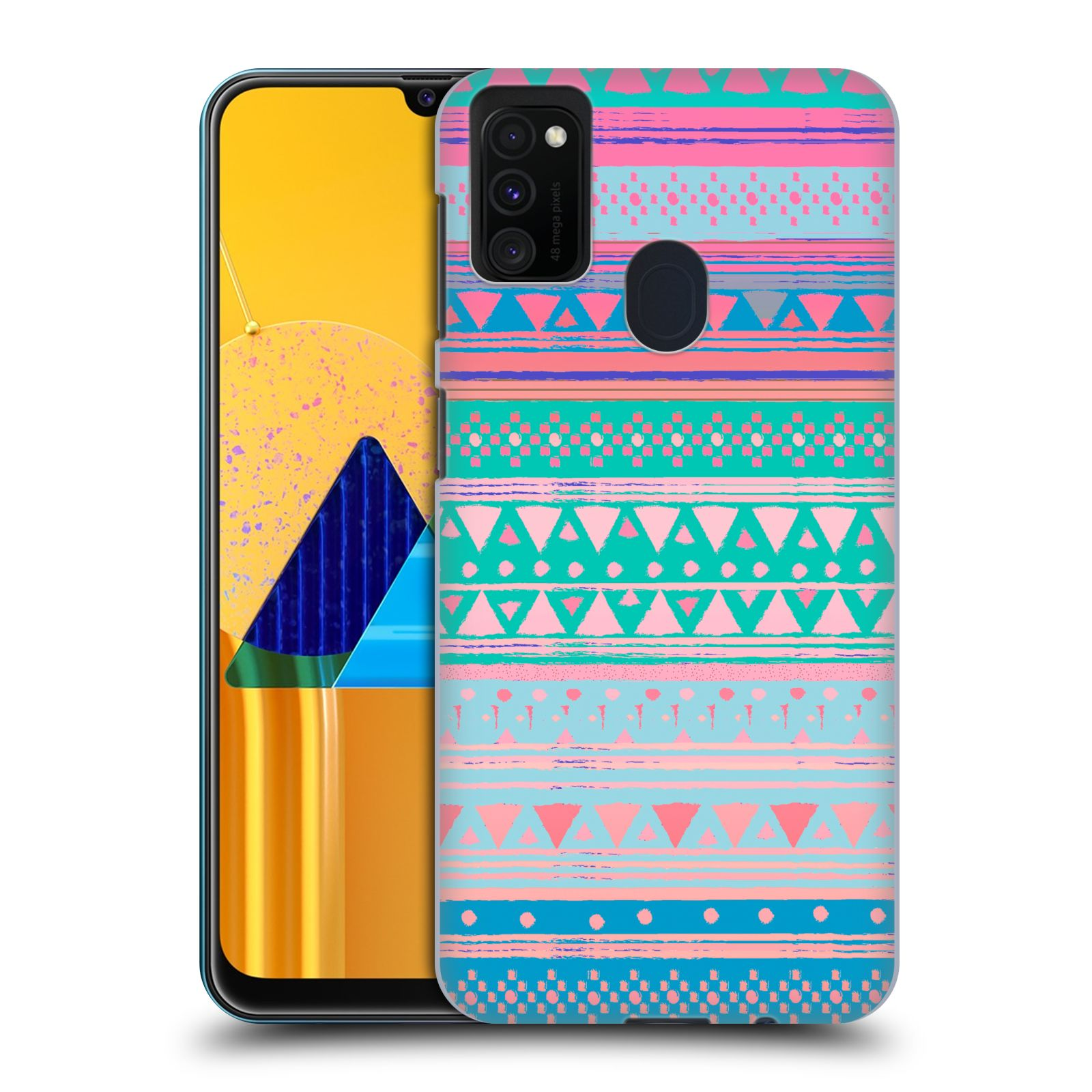 Official Nika Martinez Tribal Prints Boho Native Bandana Case for Samsung Galaxy M30s (2019)