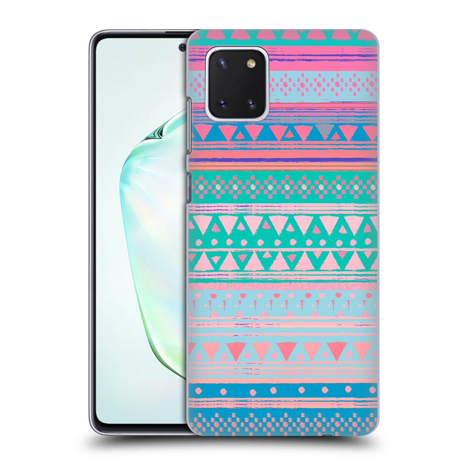 Official Nika Martinez Tribal Prints Boho Native Bandana Case for Samsung Galaxy Note10 Lite