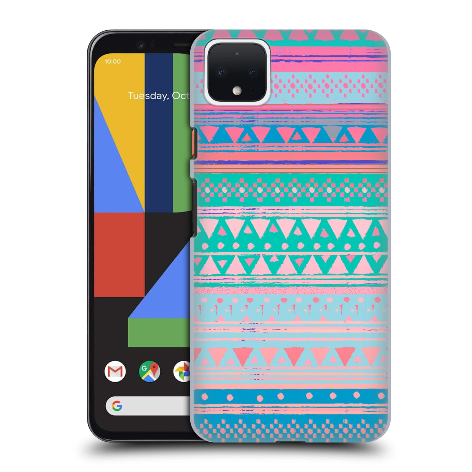 Official Nika Martinez Tribal Prints Boho Native Bandana Case for Google Pixel 4 XL