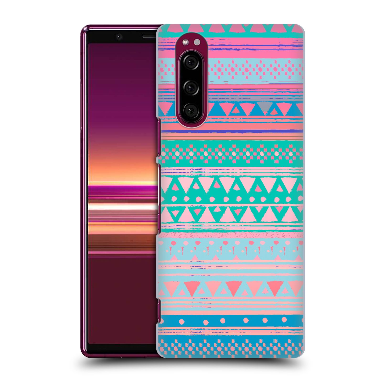 Official Nika Martinez Tribal Prints Boho Native Bandana Case for Sony Xperia 5