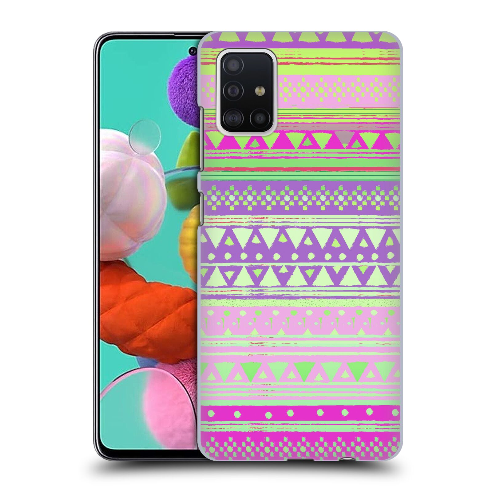 Official Nika Martinez Tribal Prints Fresh Native Bandana Case for Samsung Galaxy A51 (2019)