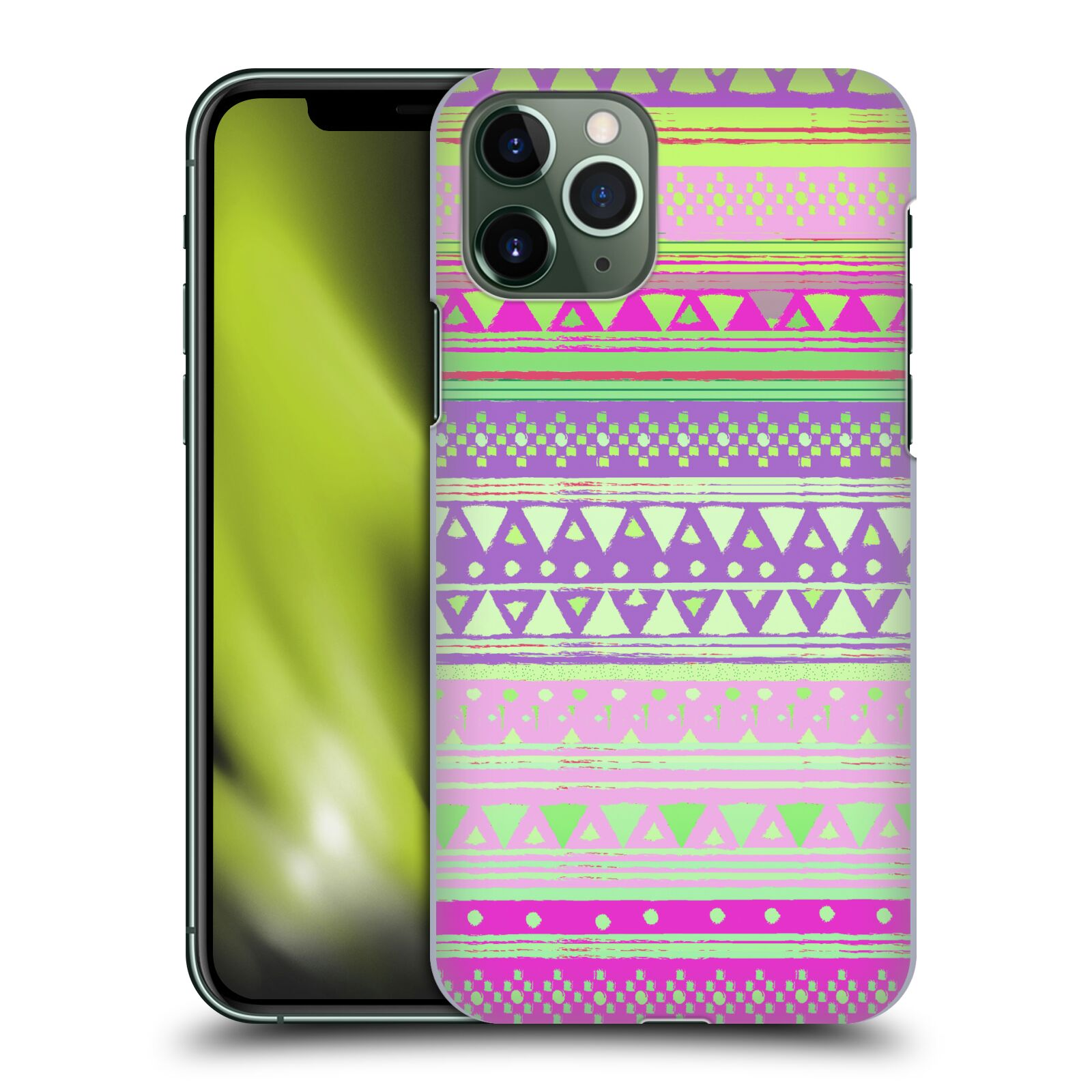 Official Nika Martinez Tribal Prints Fresh Native Bandana Case for Apple iPhone 11 Pro