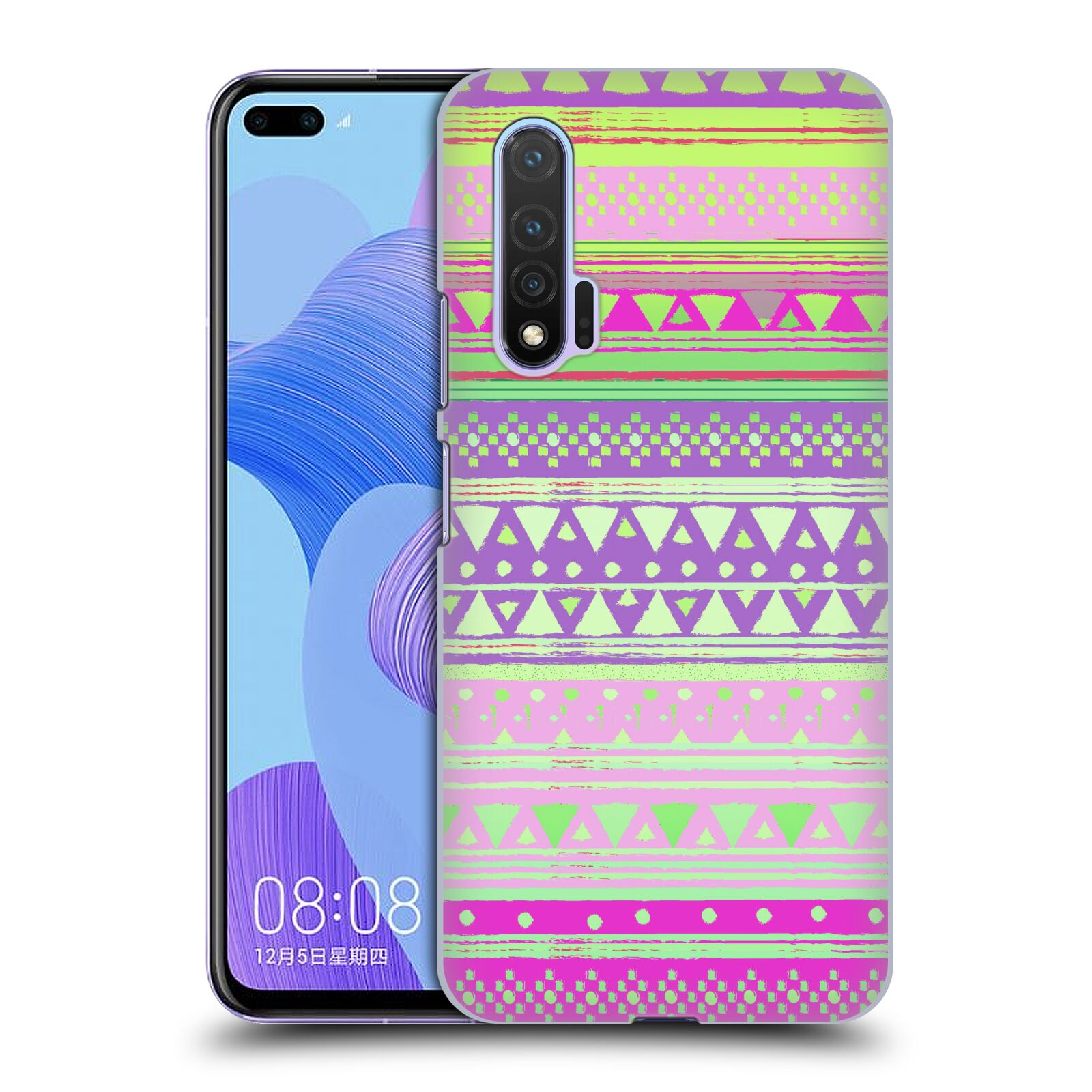 Official Nika Martinez Tribal Prints Fresh Native Bandana Case for Huawei Nova 6 5G
